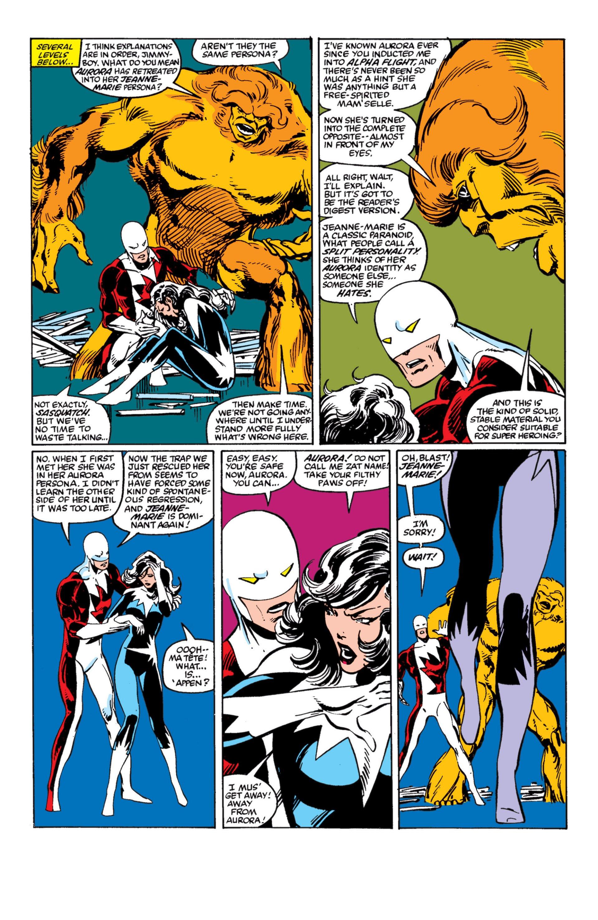 Read online Alpha Flight (1983) comic -  Issue #4 - 6