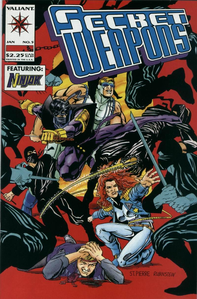Read online Secret Weapons comic -  Issue #5 - 1