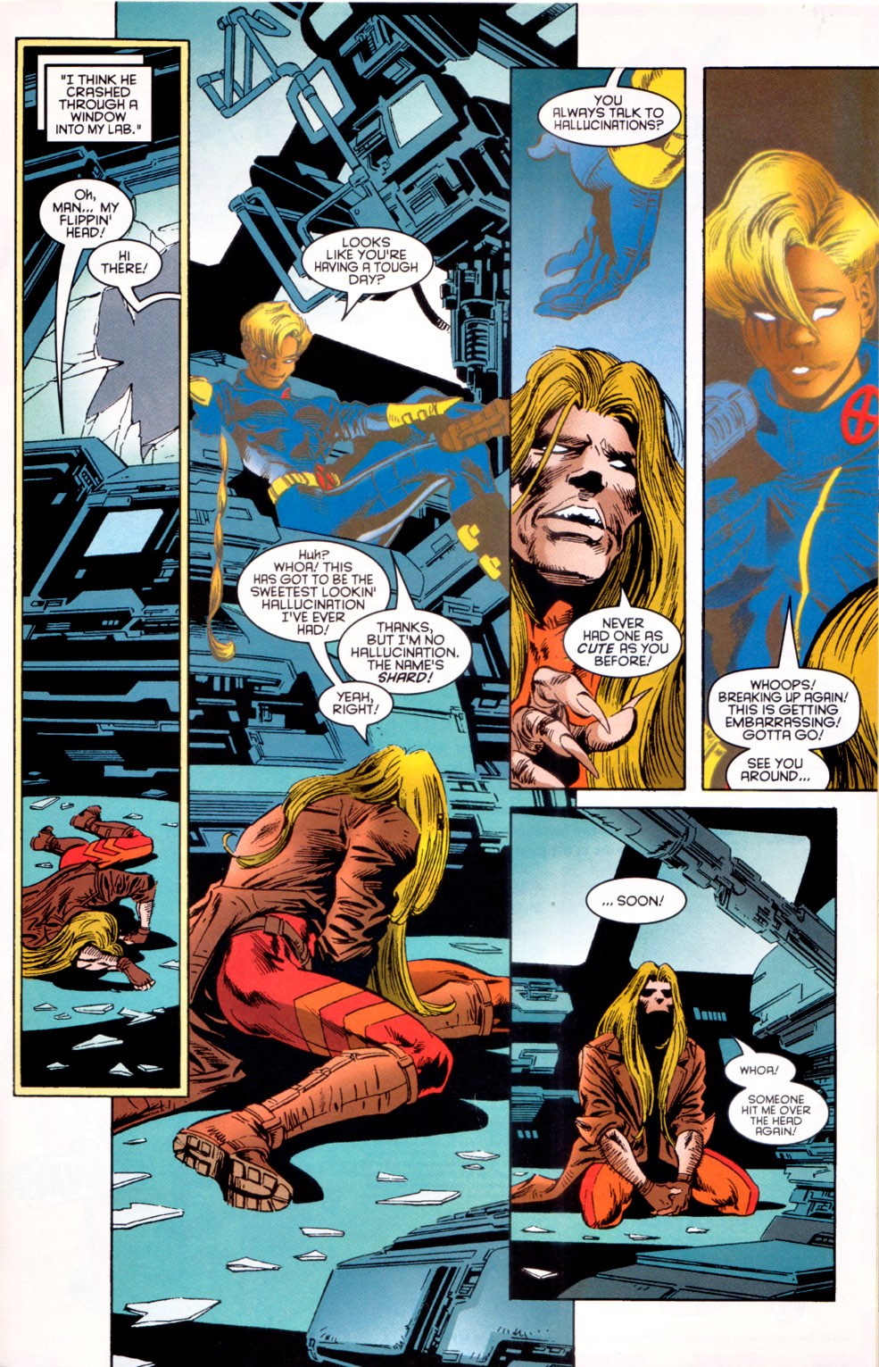 Read online X-Factor (1986) comic -  Issue #117 - 11