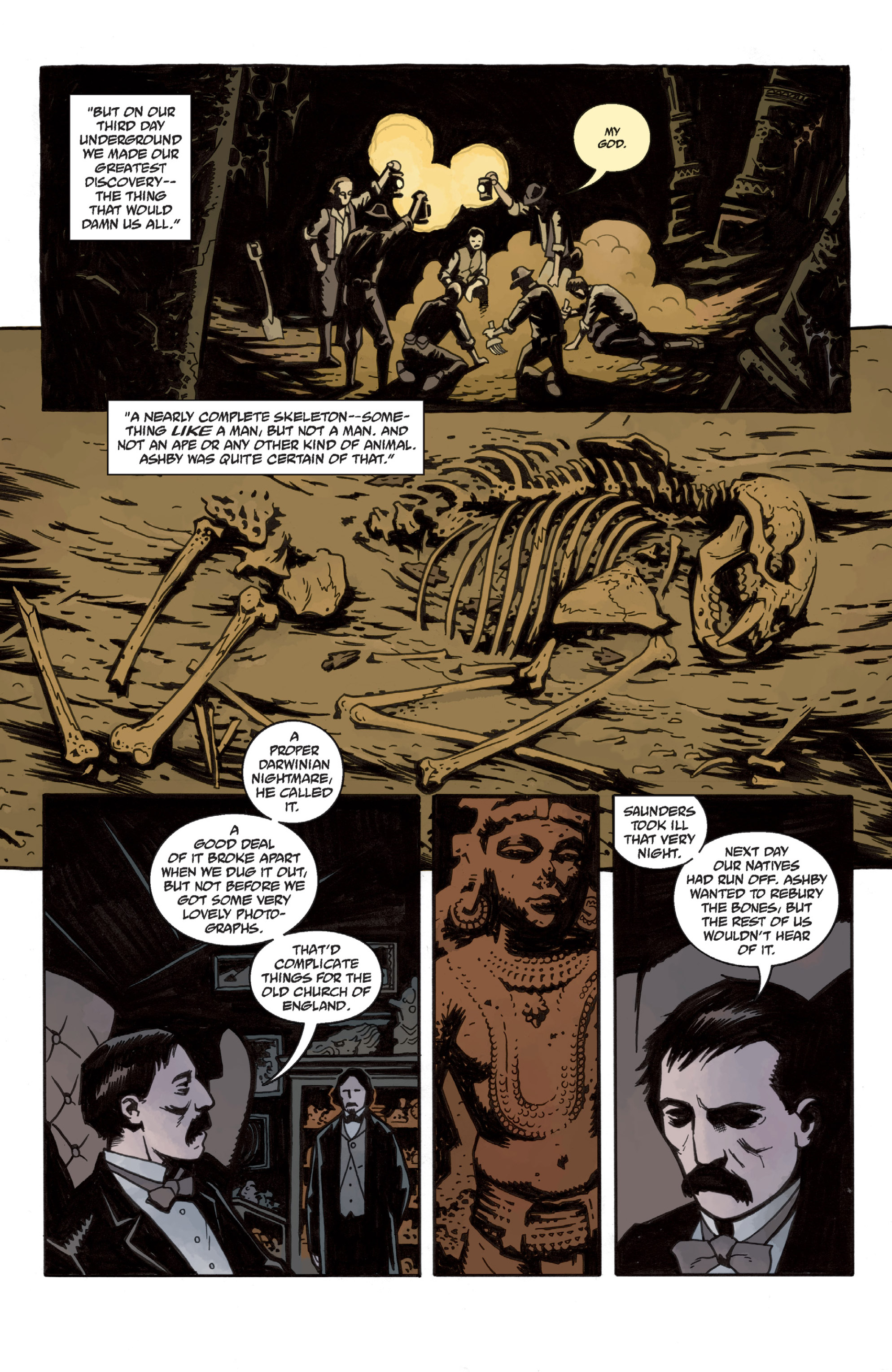 Read online Sir Edward Grey, Witchfinder: In the Service of Angels comic -  Issue # TPB - 14