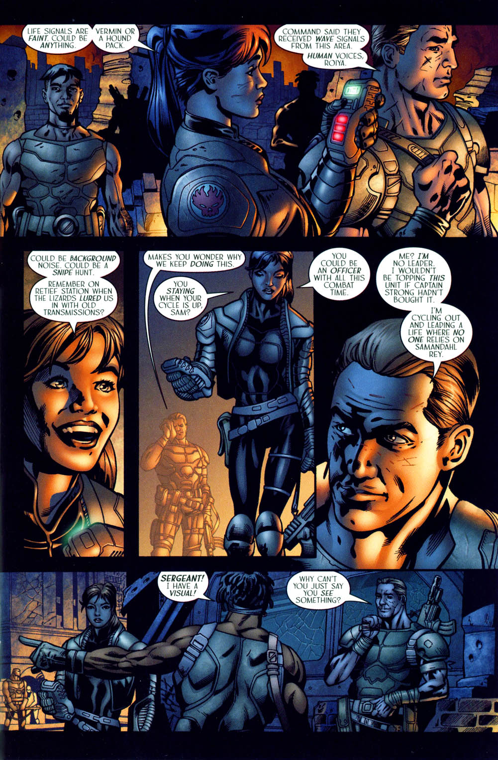 Read online Sigil (2000) comic -  Issue #35 - 6