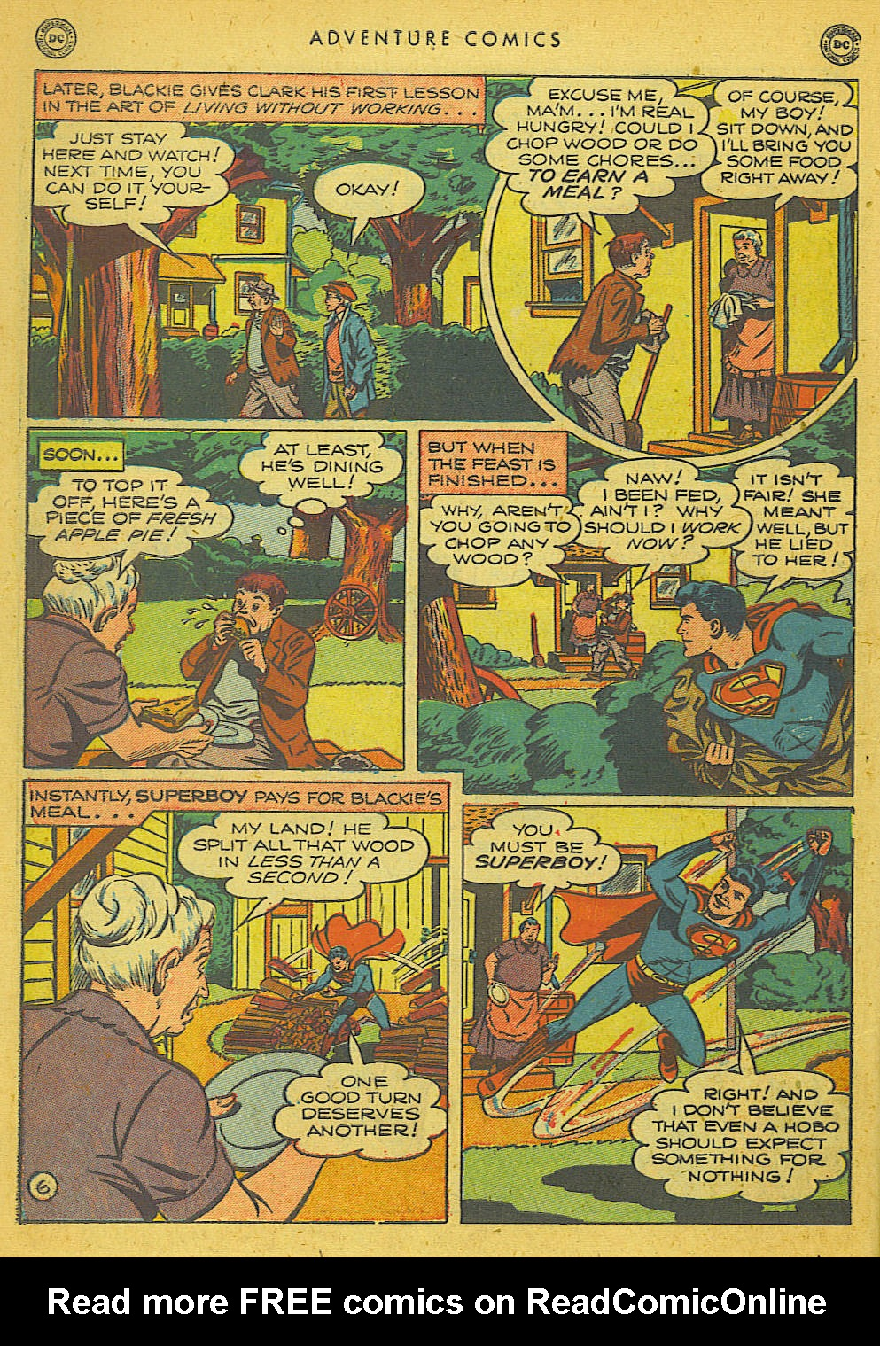 Read online Adventure Comics (1938) comic -  Issue #153 - 7