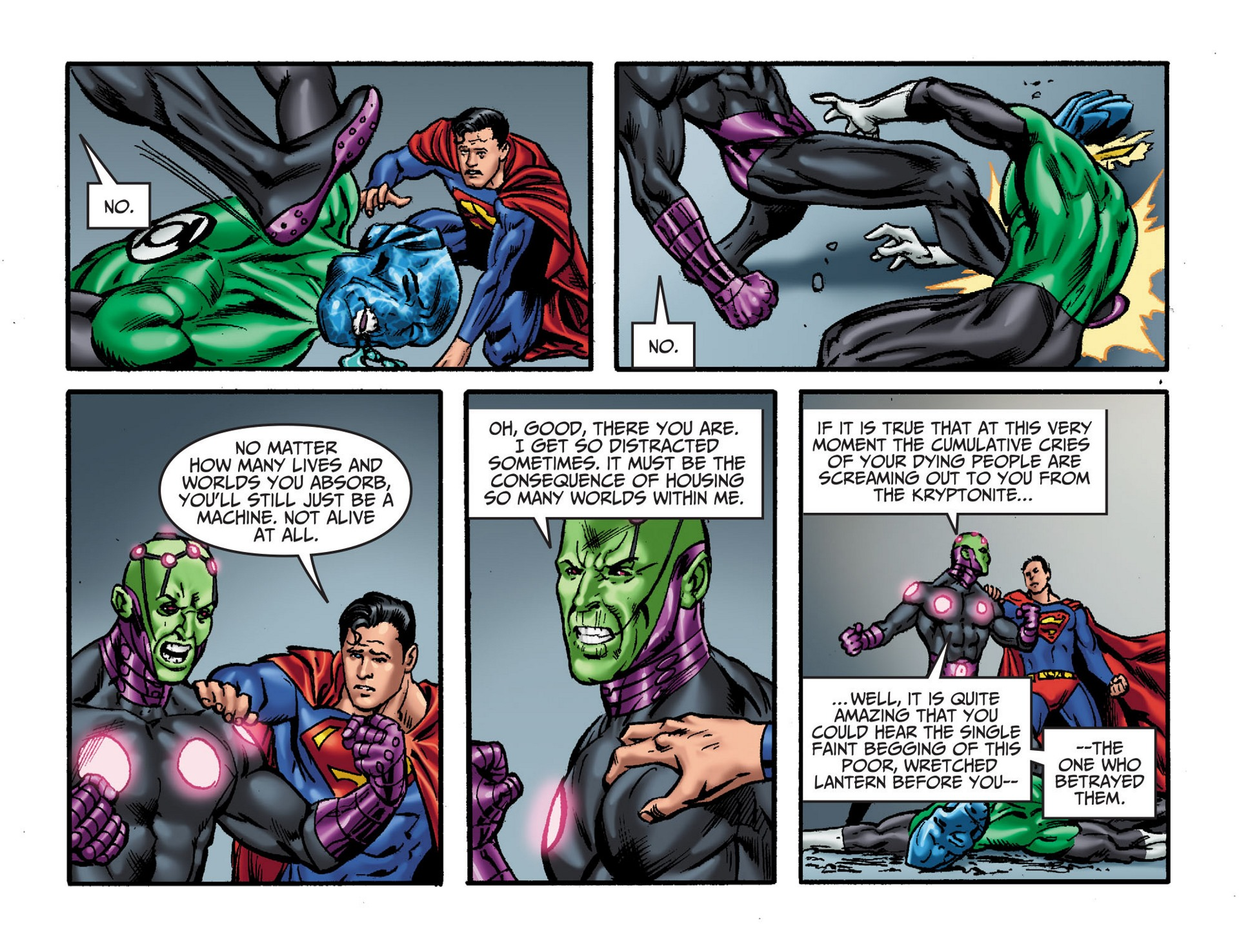 Read online Adventures of Superman [I] comic -  Issue #33 - 6