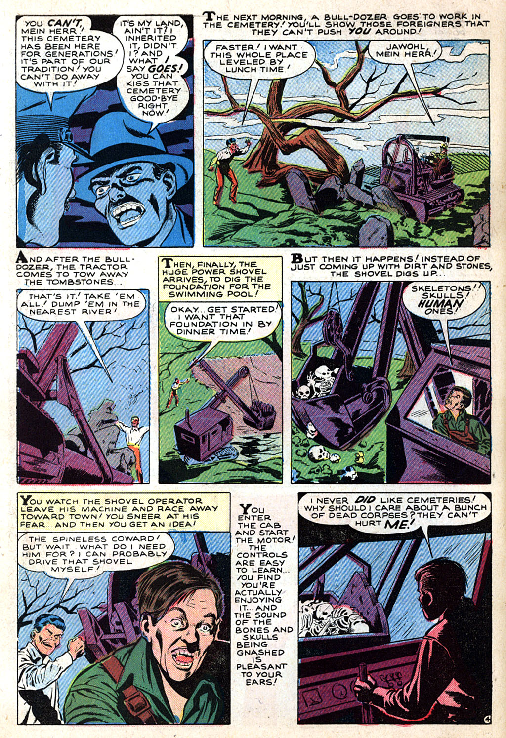 Read online Adventures into Weird Worlds comic -  Issue #17 - 6
