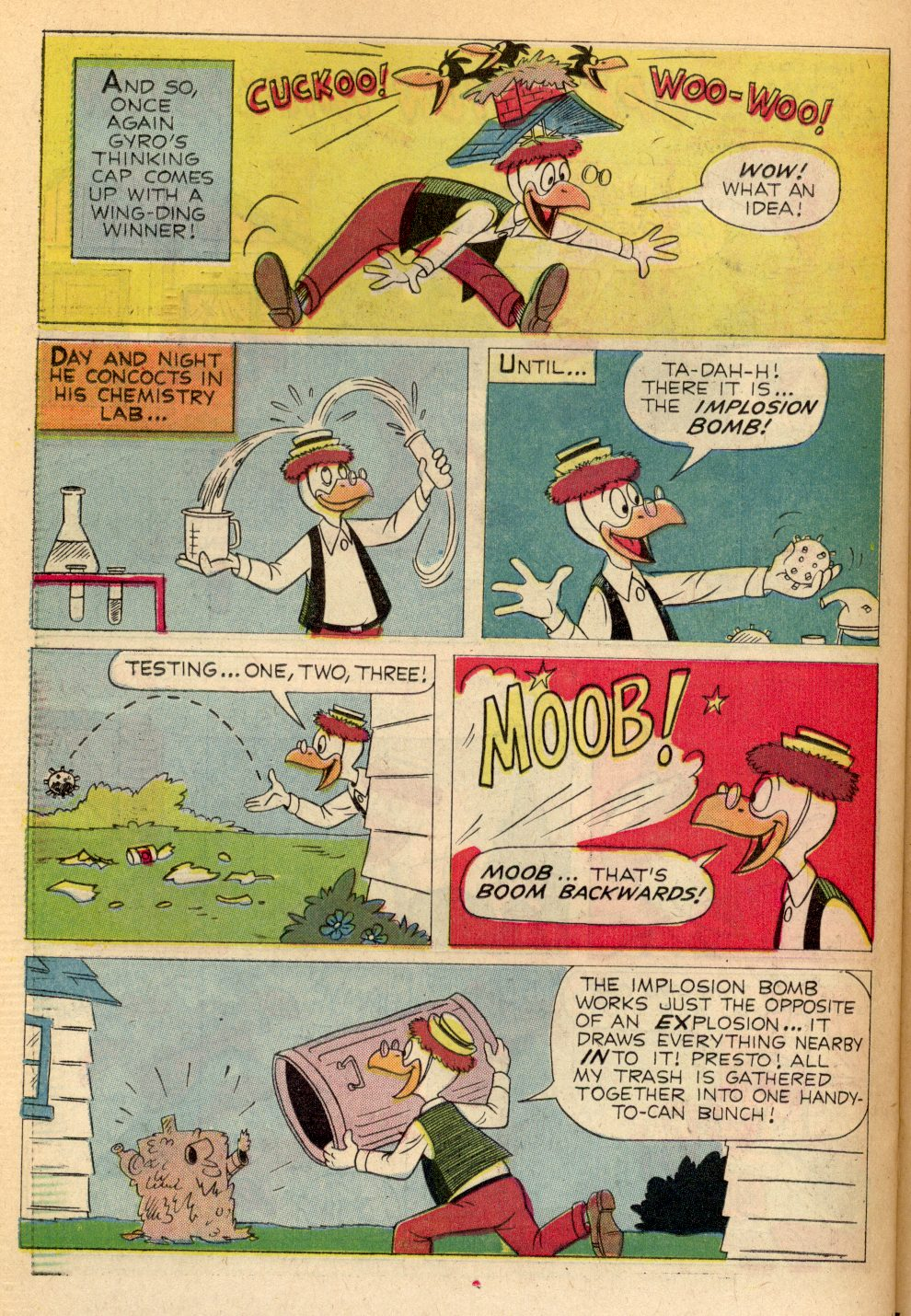 Read online Uncle Scrooge (1953) comic -  Issue #82 - 22