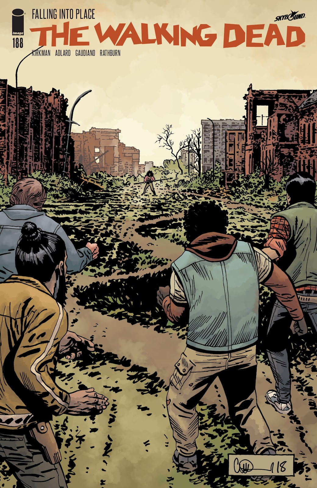 The Walking Dead 188 Page 1