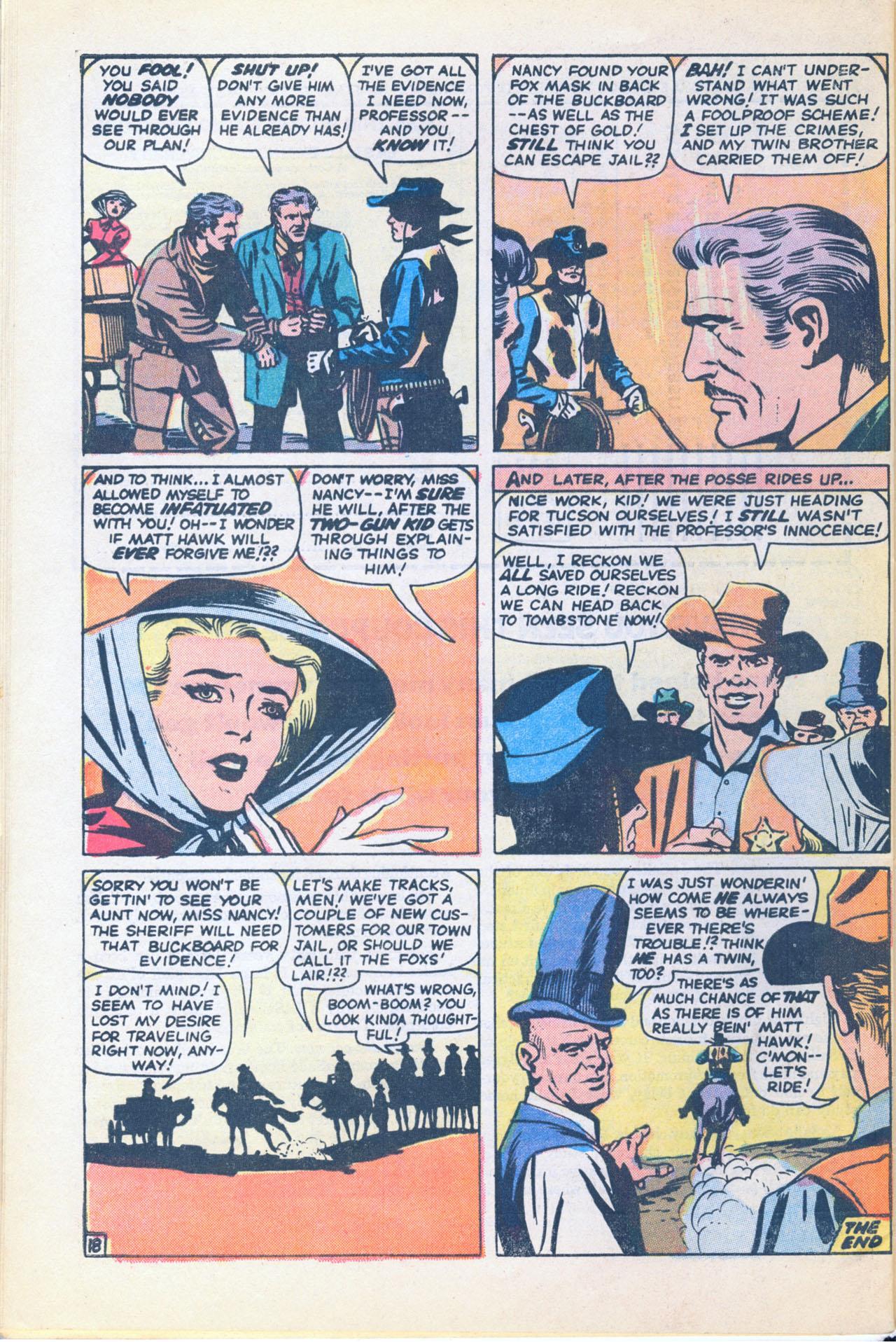 Read online Two-Gun Kid comic -  Issue #116 - 32