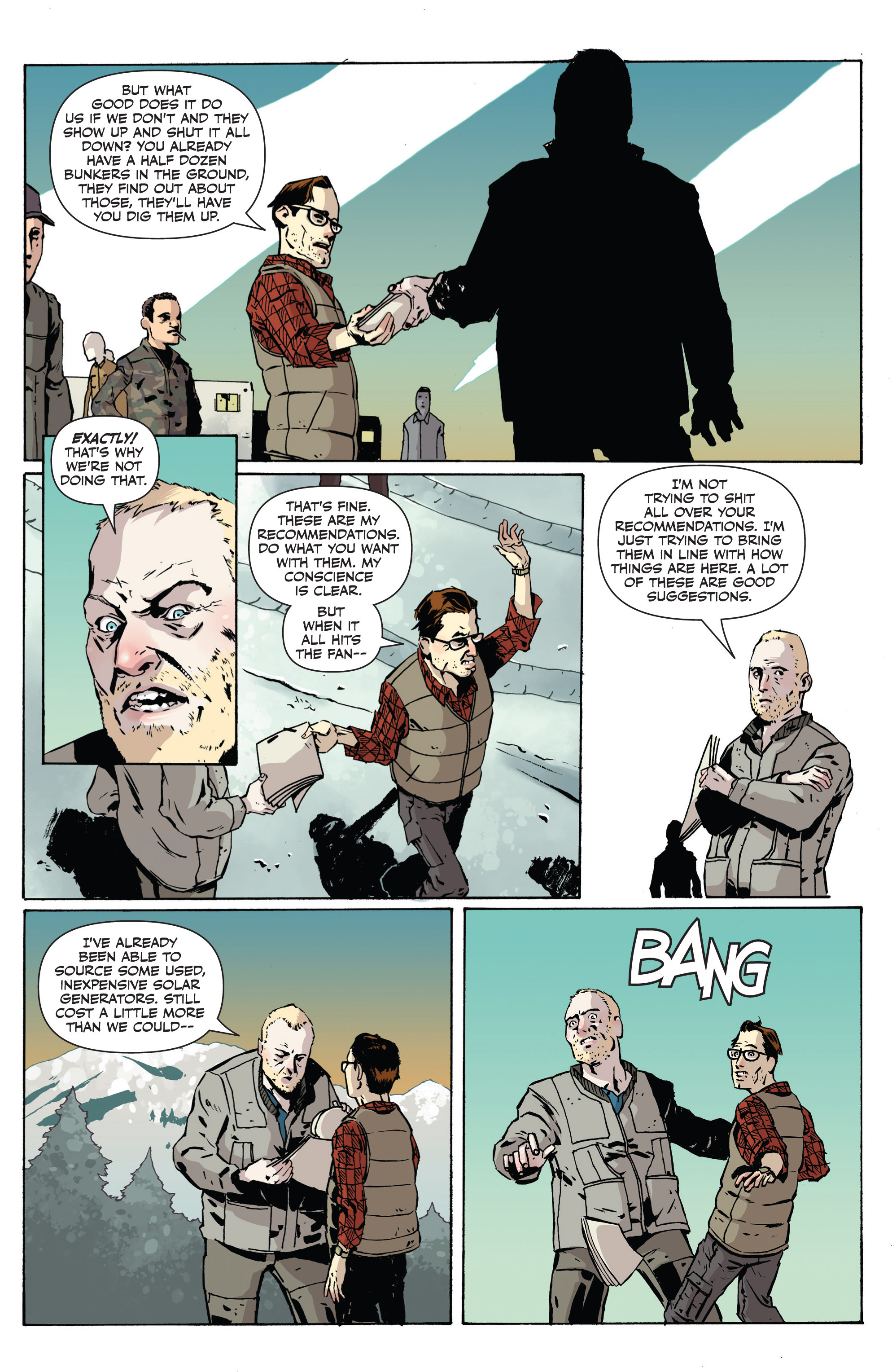 Read online Sheltered comic -  Issue #1 - 13