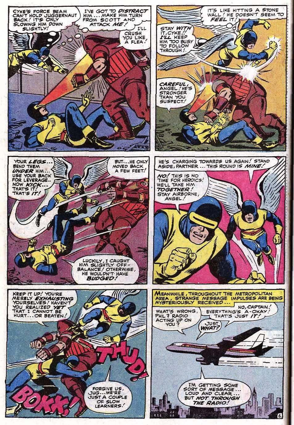 Read online Uncanny X-Men (1963) comic -  Issue #67 - 32