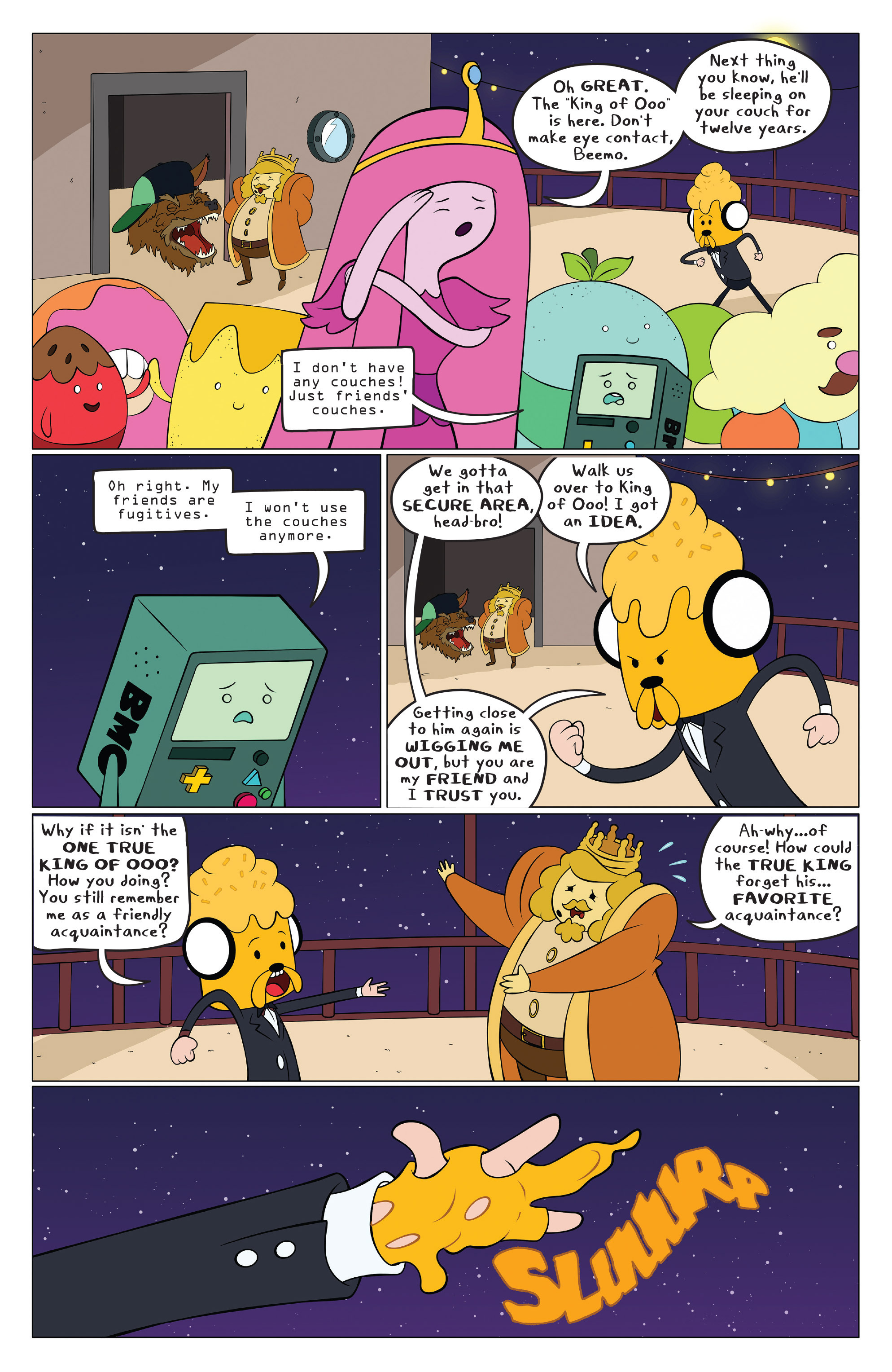Read online Adventure Time comic -  Issue #43 - 14