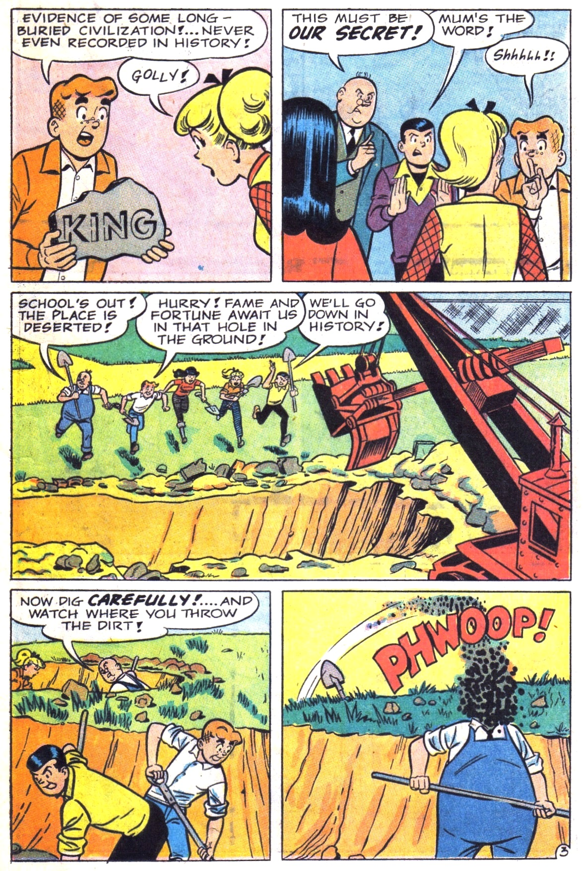 Read online Archie (1960) comic -  Issue #181 - 15