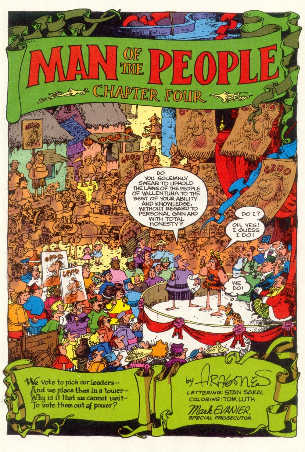 Read online Sergio Aragonés Groo the Wanderer comic -  Issue #109 - 3