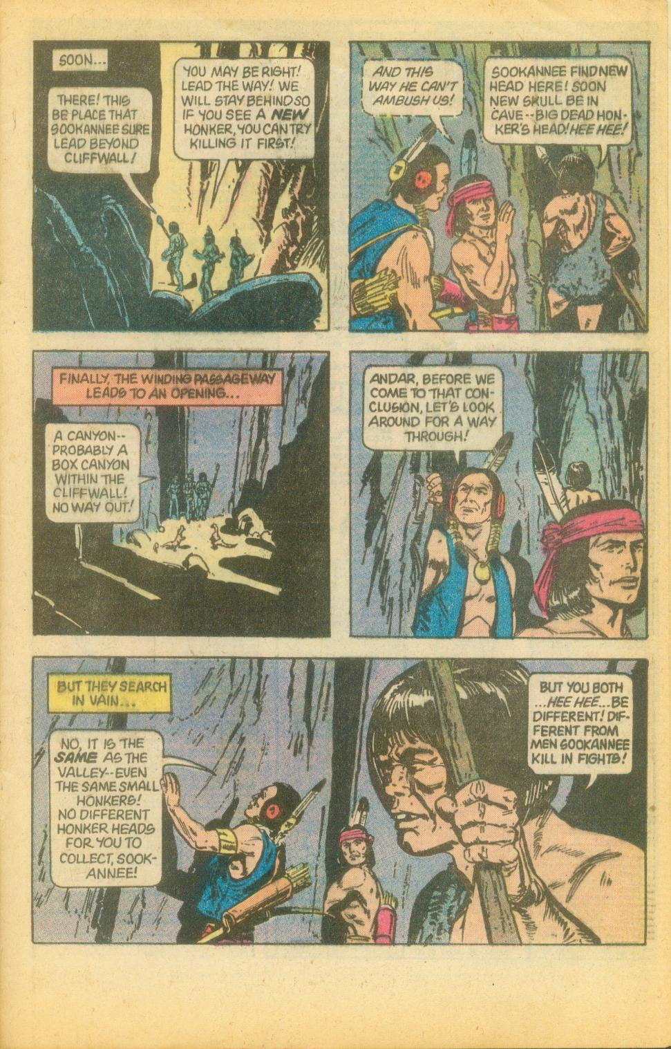 Read online Turok, Son of Stone comic -  Issue #120 - 29