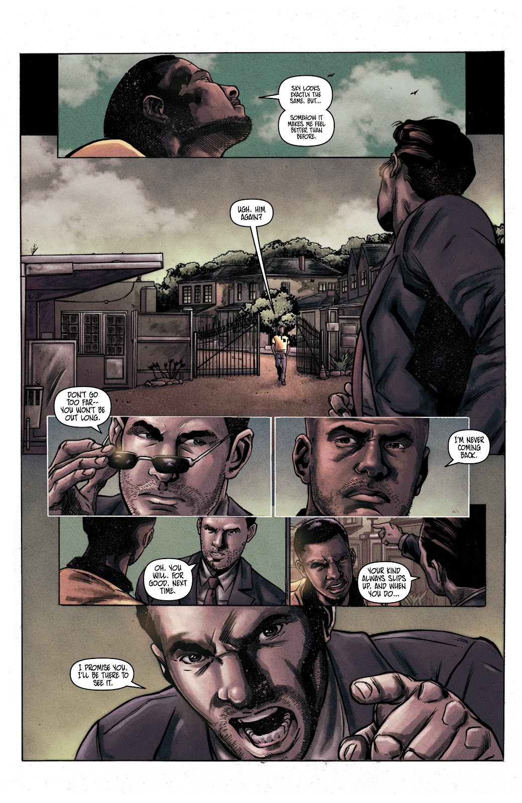 Read online Vindication comic -  Issue #1 - 5