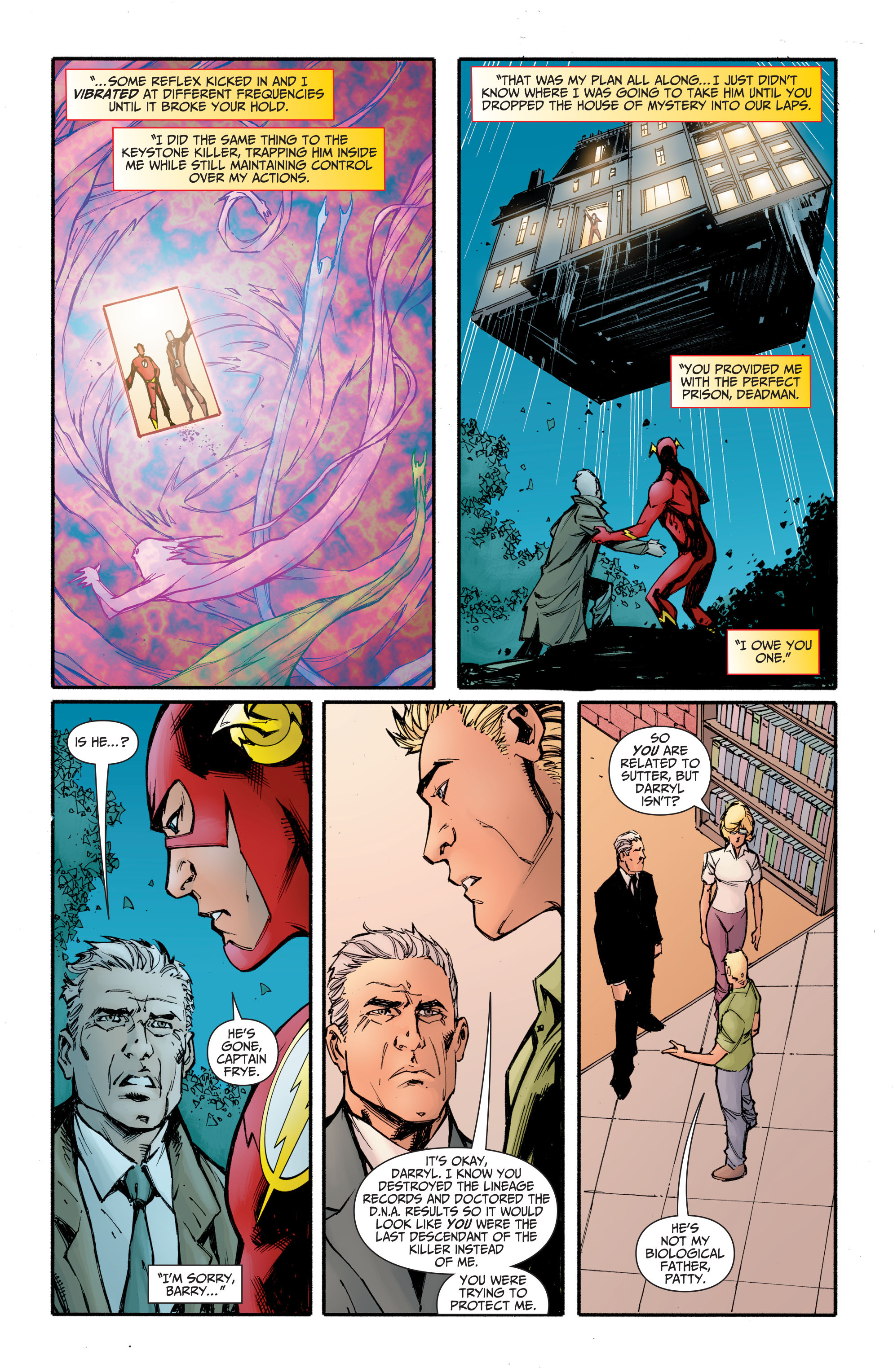 Read online The Flash (2011) comic -  Issue # _TPB 5 - 123
