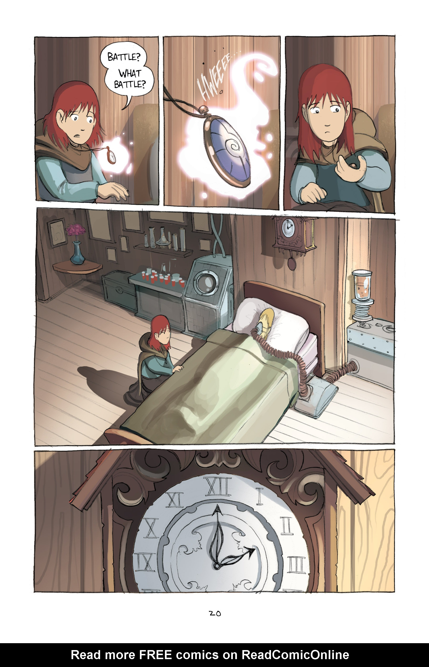 Read online Amulet comic -  Issue #2 - 23
