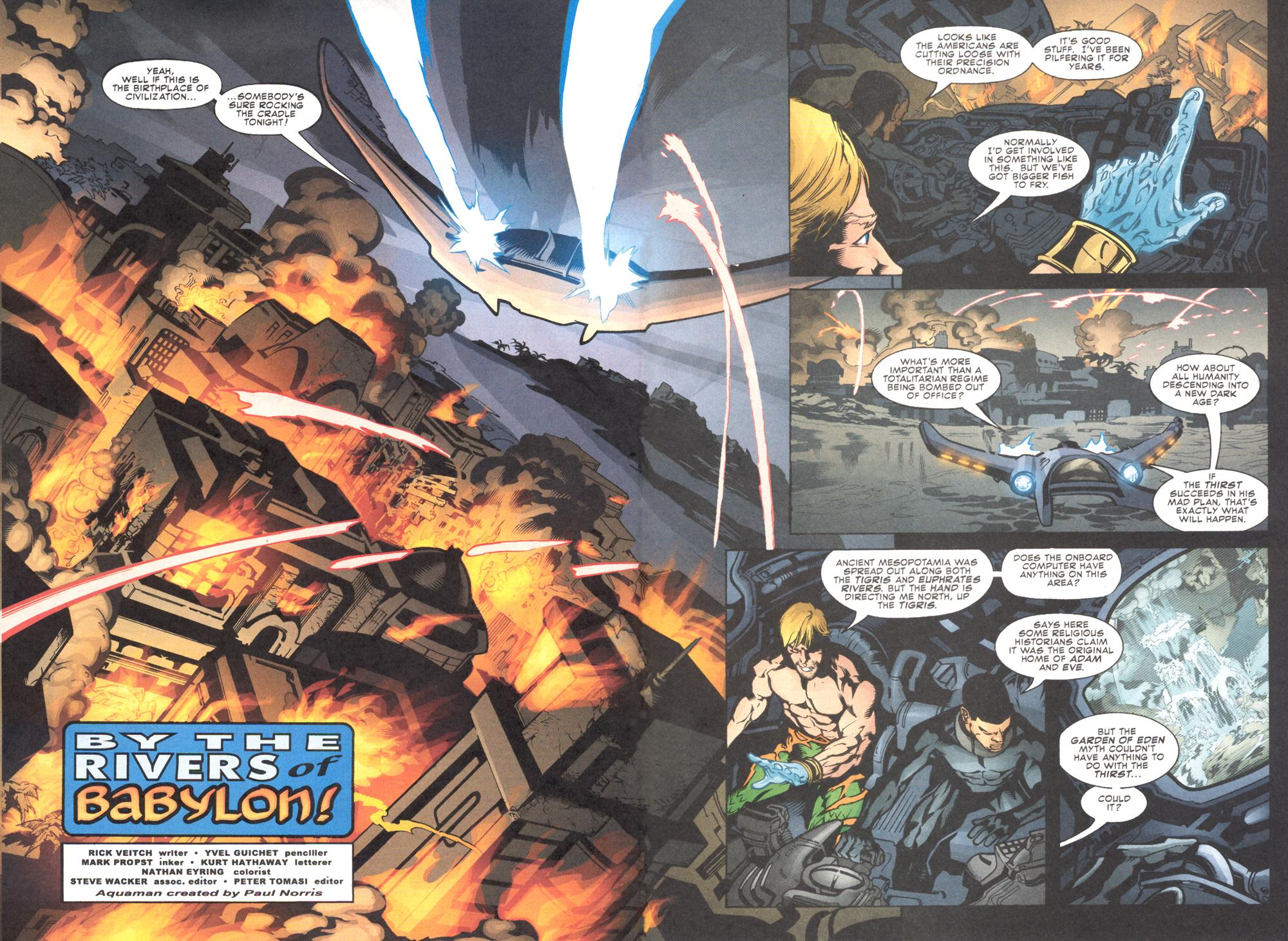 Read online Aquaman (2003) comic -  Issue #11 - 6