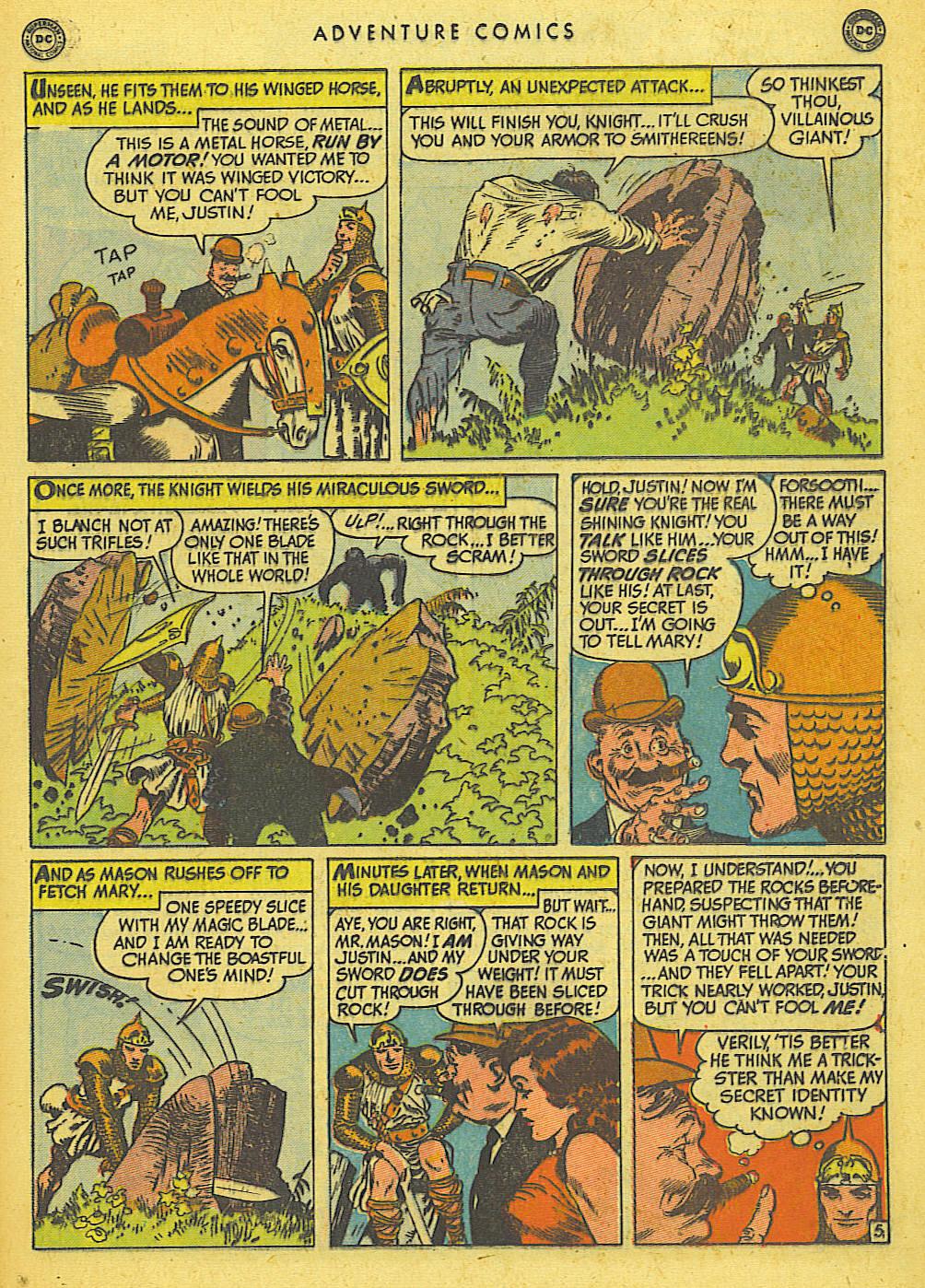 Read online Adventure Comics (1938) comic -  Issue #155 - 31