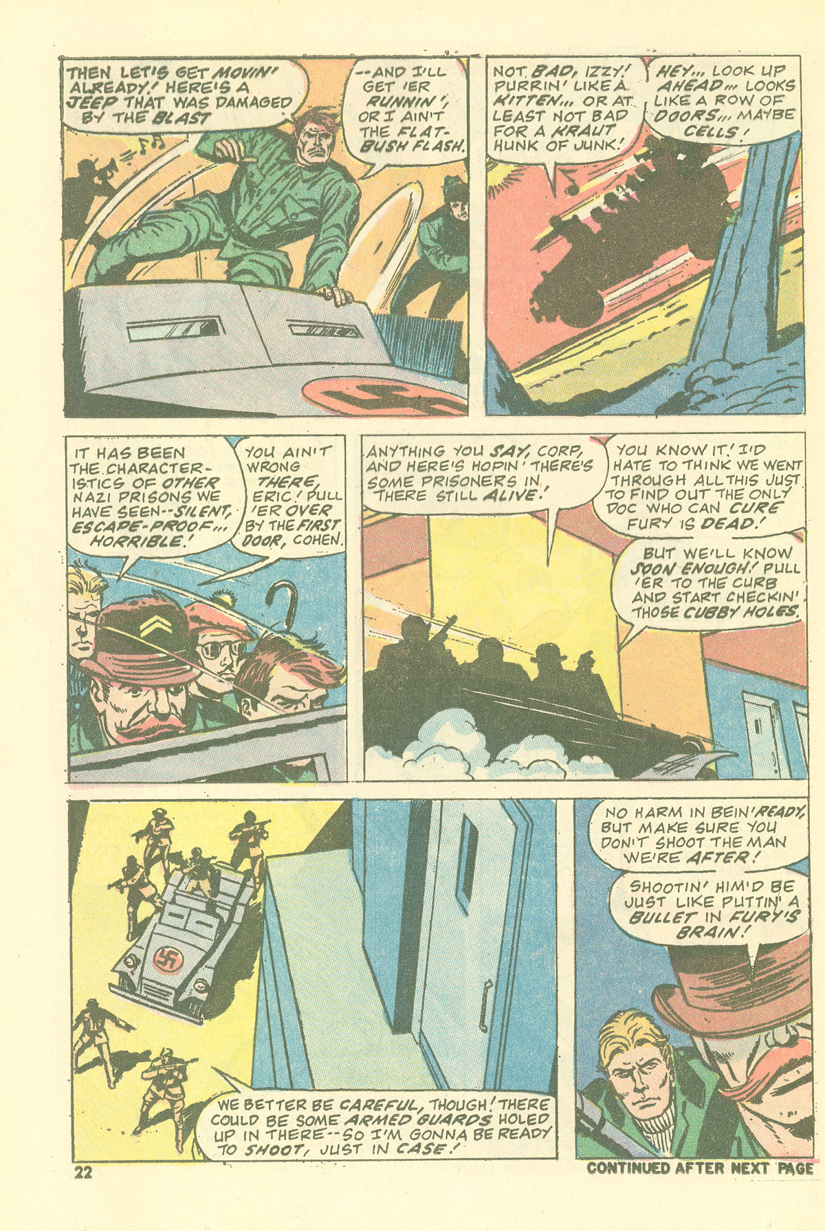 Read online Sgt. Fury comic -  Issue #115 - 24