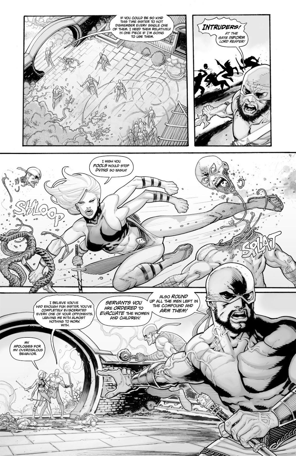 Read online Reaper comic -  Issue #2 - 11