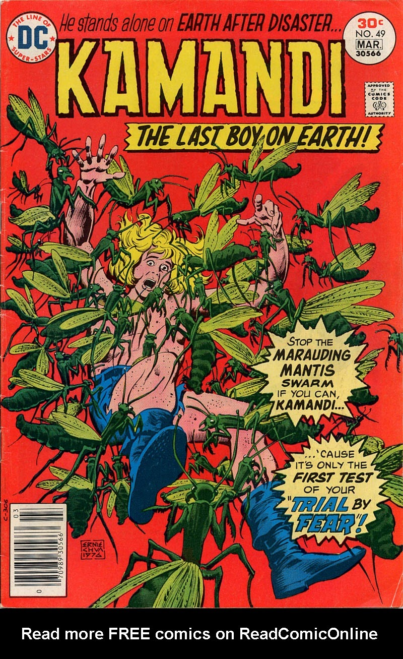 Kamandi, The Last Boy On Earth issue 49 - Page 1