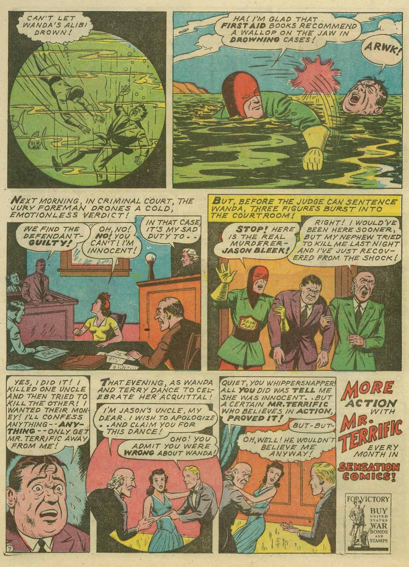 Read online Sensation (Mystery) Comics comic -  Issue #14 - 44