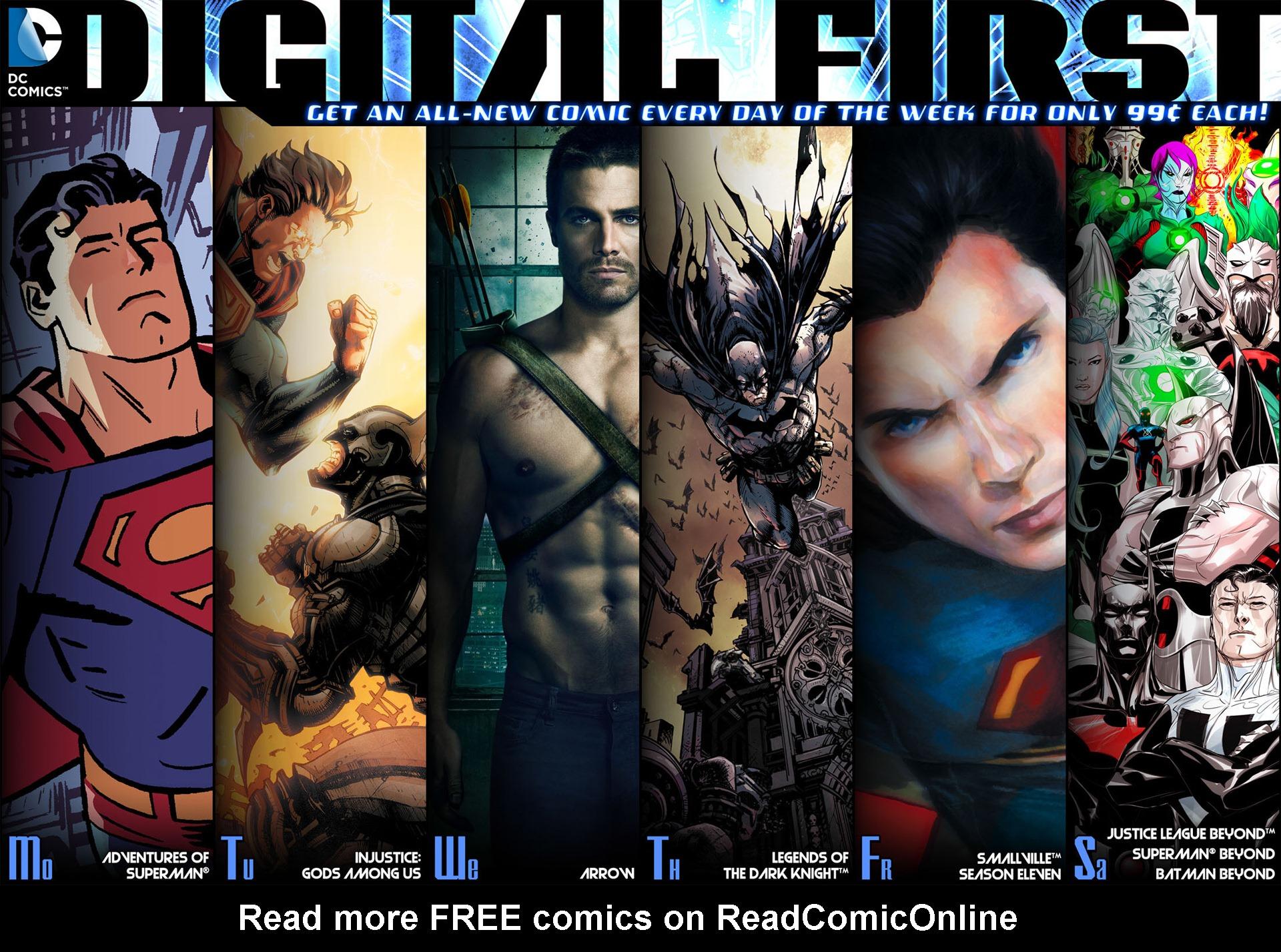 Read online Arrow [II] comic -  Issue #36 - 23