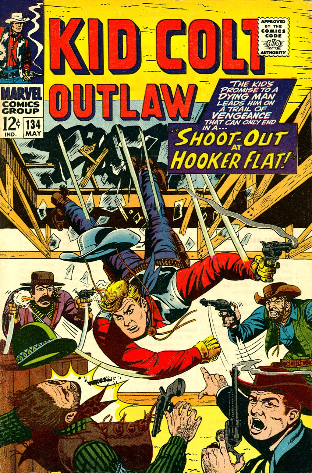 Kid Colt Outlaw issue 134 - Page 1