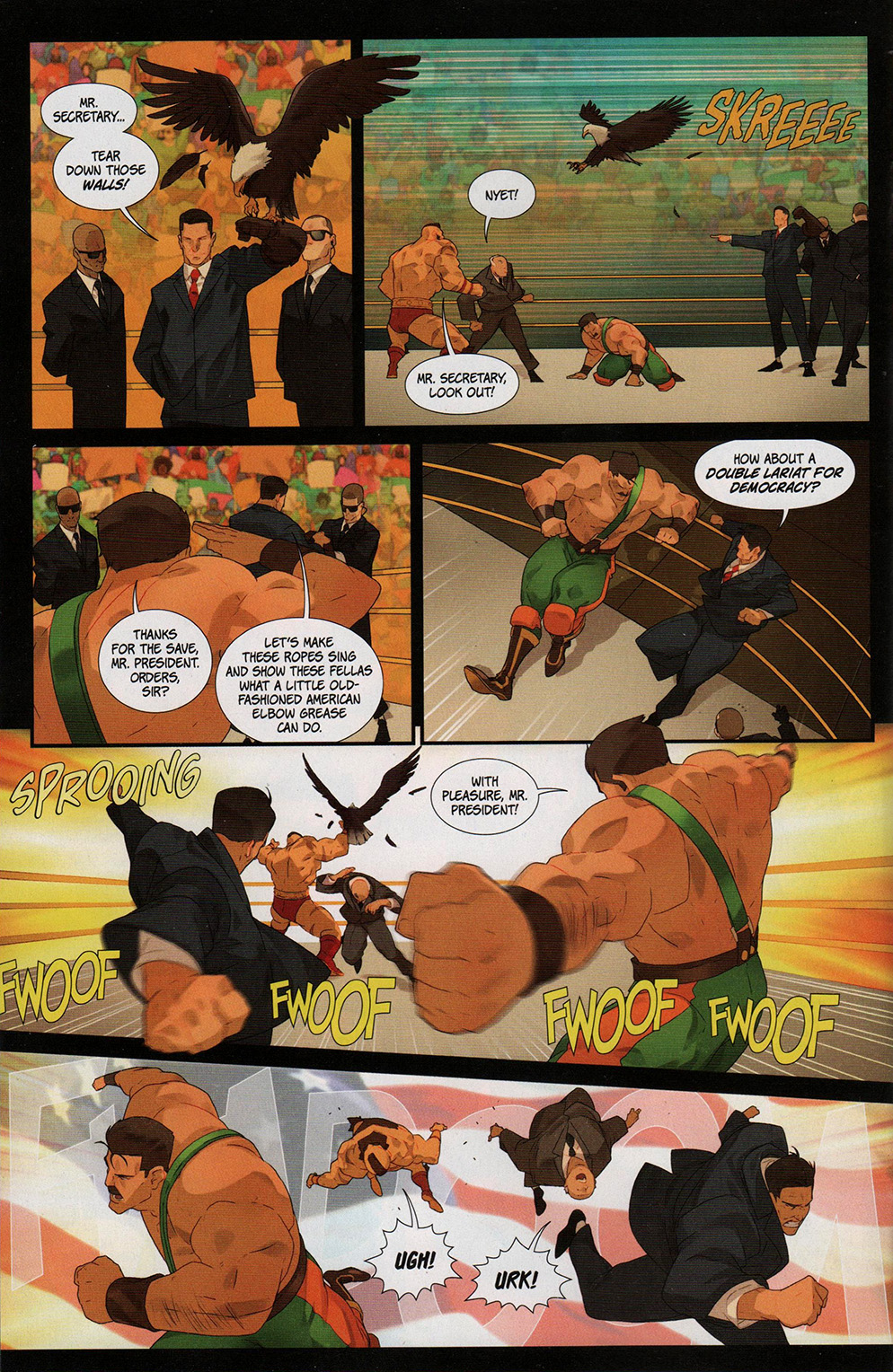 Read online Free Comic Book Day 2017 comic -  Issue # Street Fighter V - Wrestling Special - 24