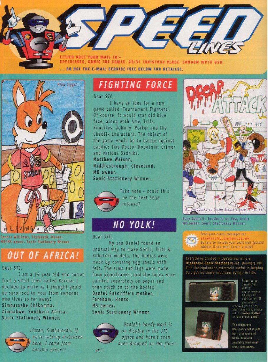 Read online Sonic the Comic comic -  Issue #65 - 29