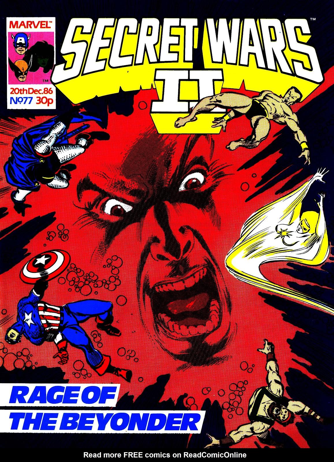Secret Wars (1985) issue 77 - Page 1
