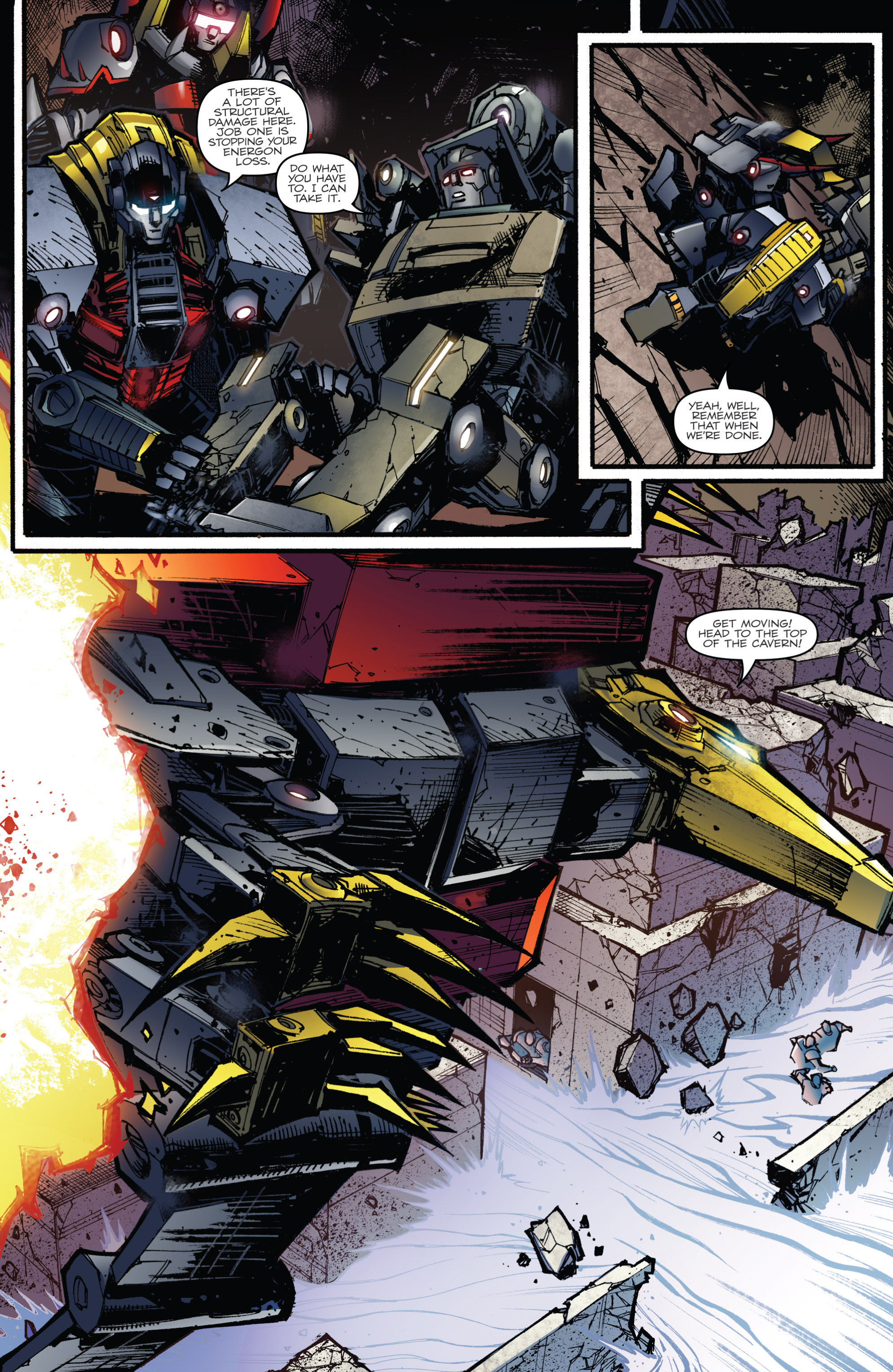 Read online Transformers Prime: Beast Hunters comic -  Issue #6 - 5