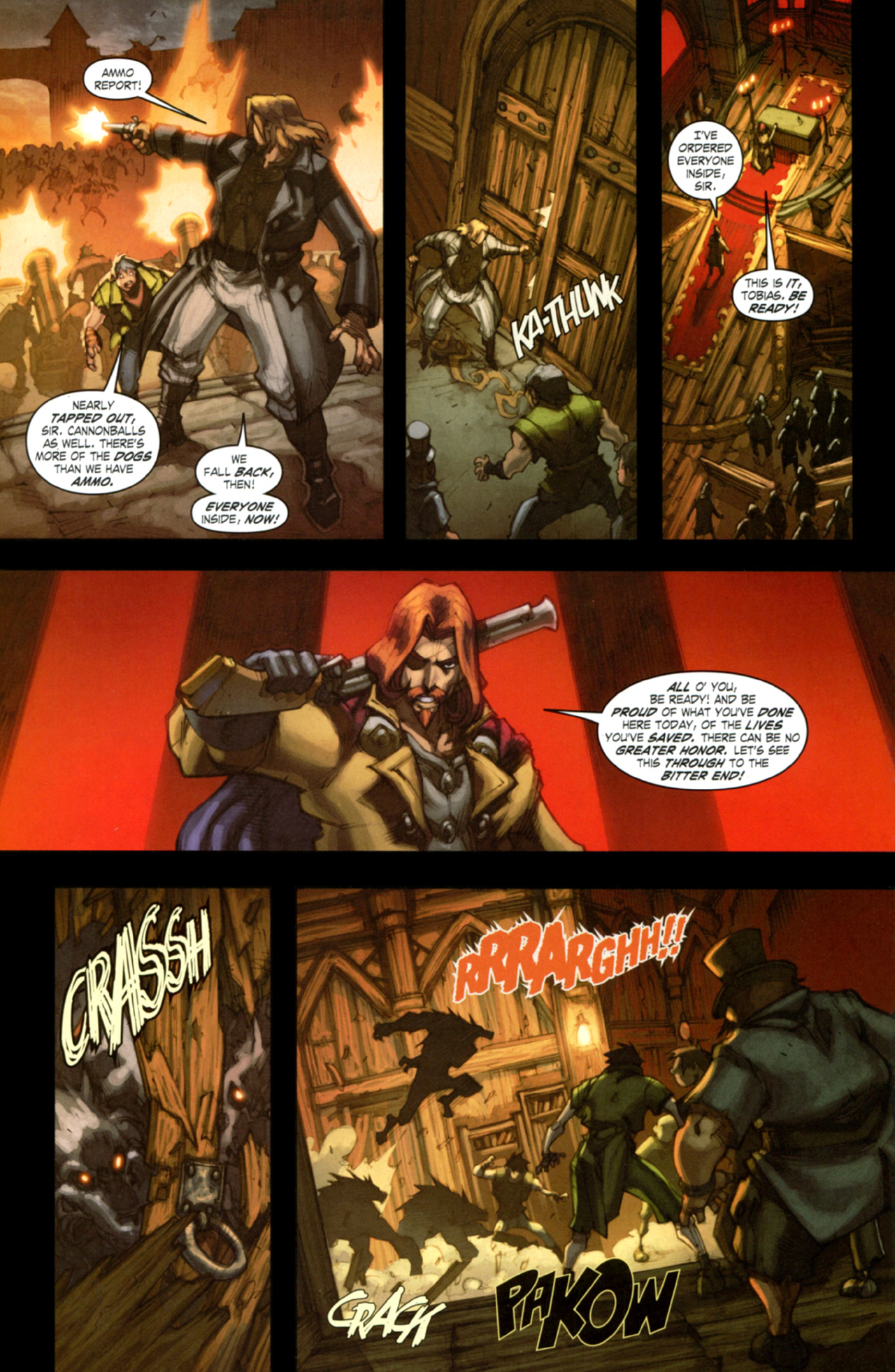 Read online World of Warcraft: Curse of the Worgen comic -  Issue #4 - 25