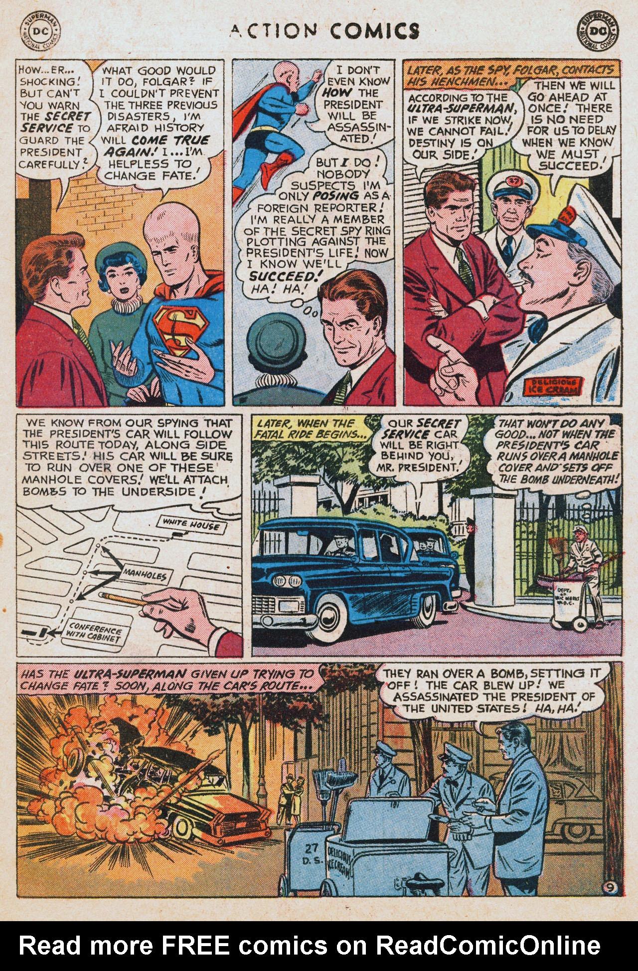 Action Comics (1938) 256 Page 10