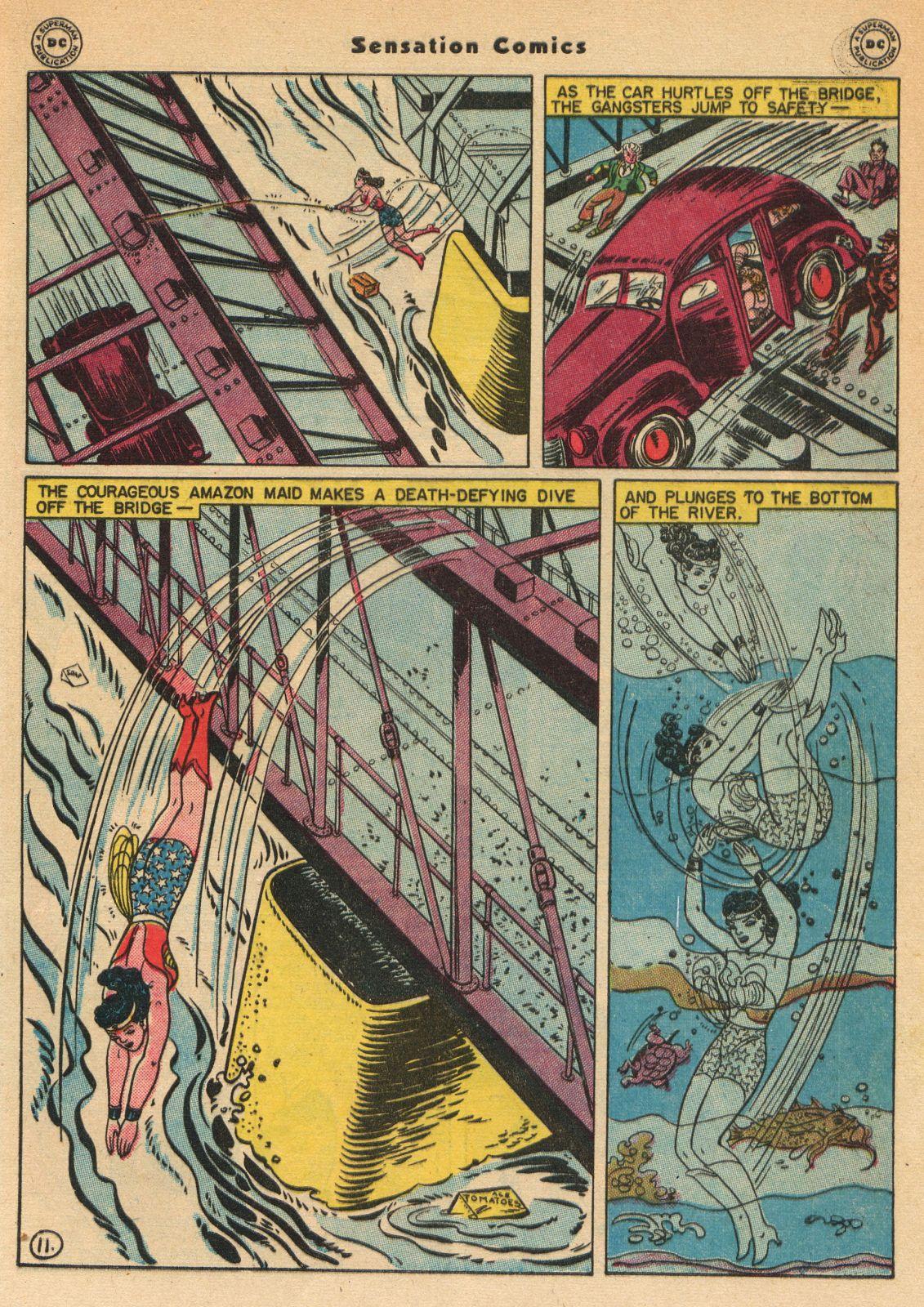 Read online Sensation (Mystery) Comics comic -  Issue #51 - 13