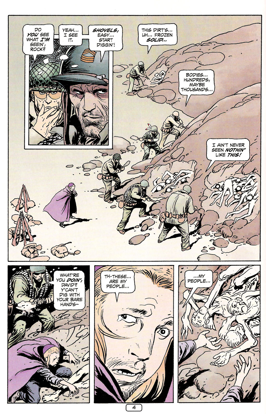 Read online Sgt. Rock: The Prophecy comic -  Issue #4 - 4