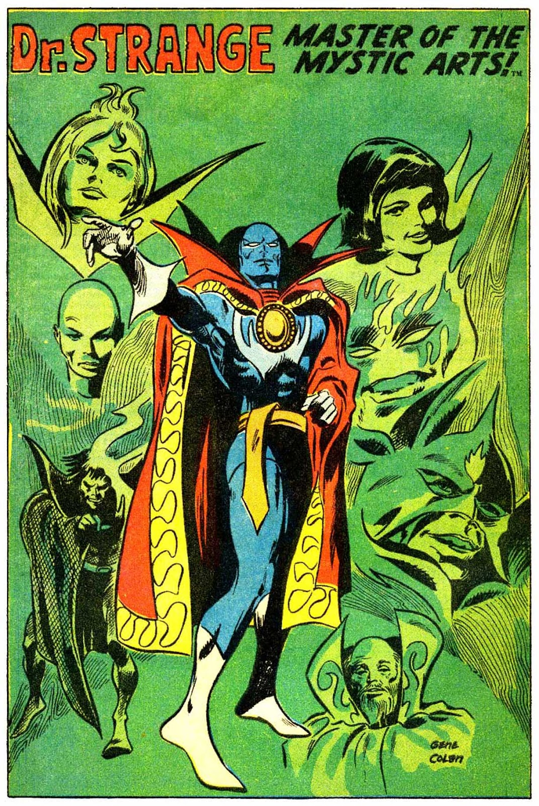 Doctor Strange (1968) 180 Page 22