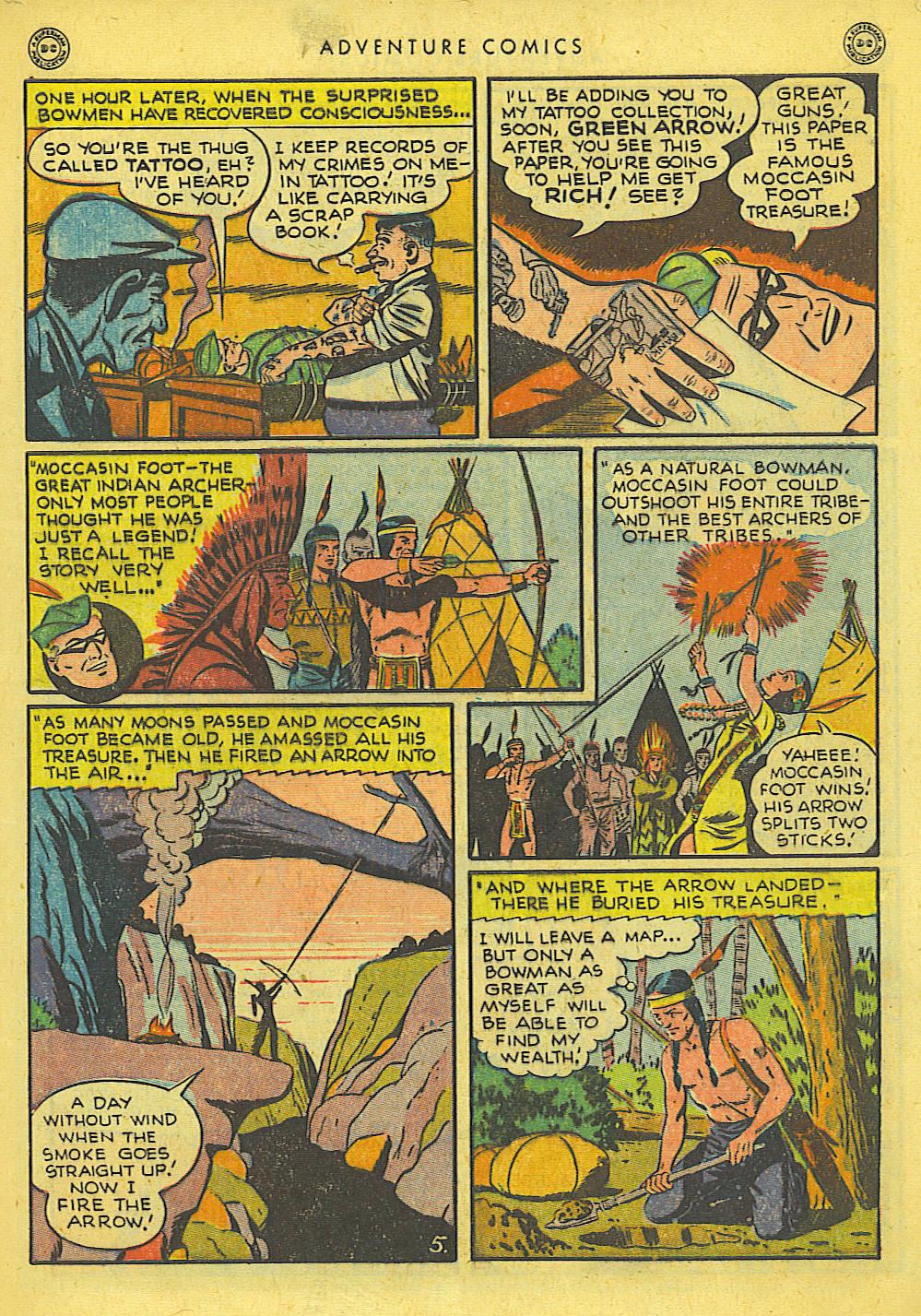 Read online Adventure Comics (1938) comic -  Issue #127 - 6