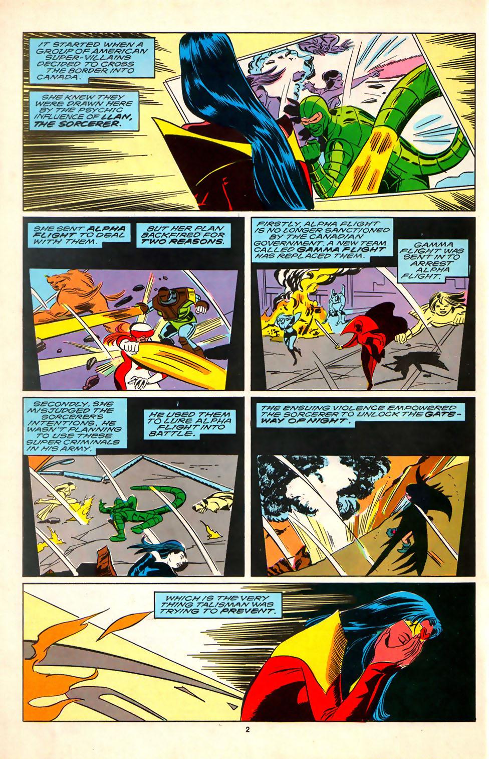 Read online Alpha Flight (1983) comic -  Issue #81 - 3