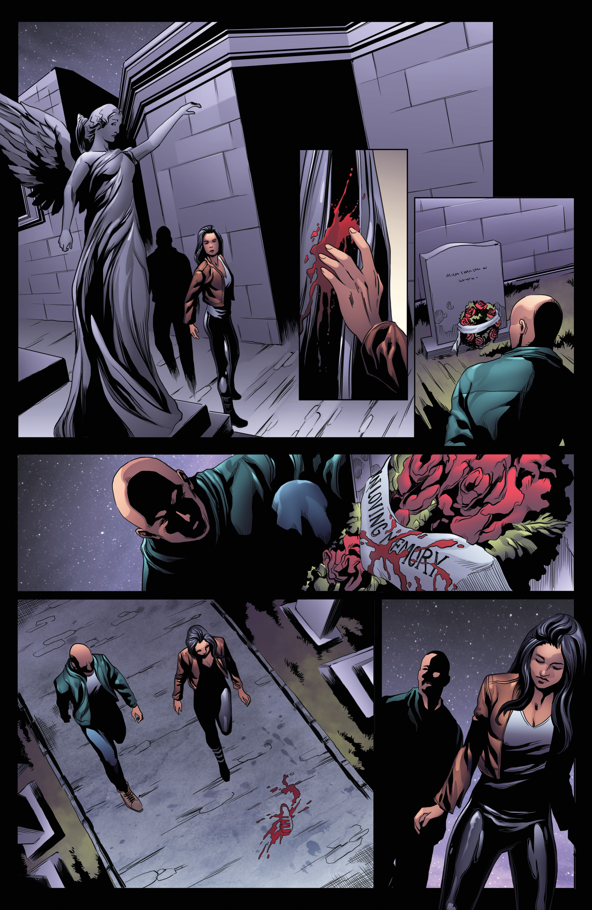 Read online Grimm Fairy Tales: Day of the Dead comic -  Issue #4 - 16