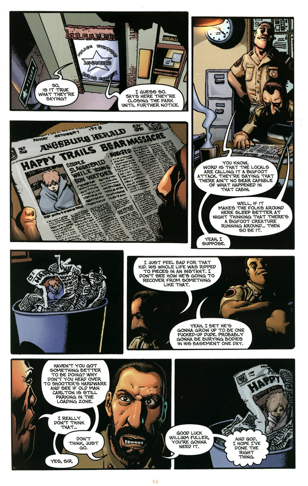 Bigfoot issue 1 - Page 21