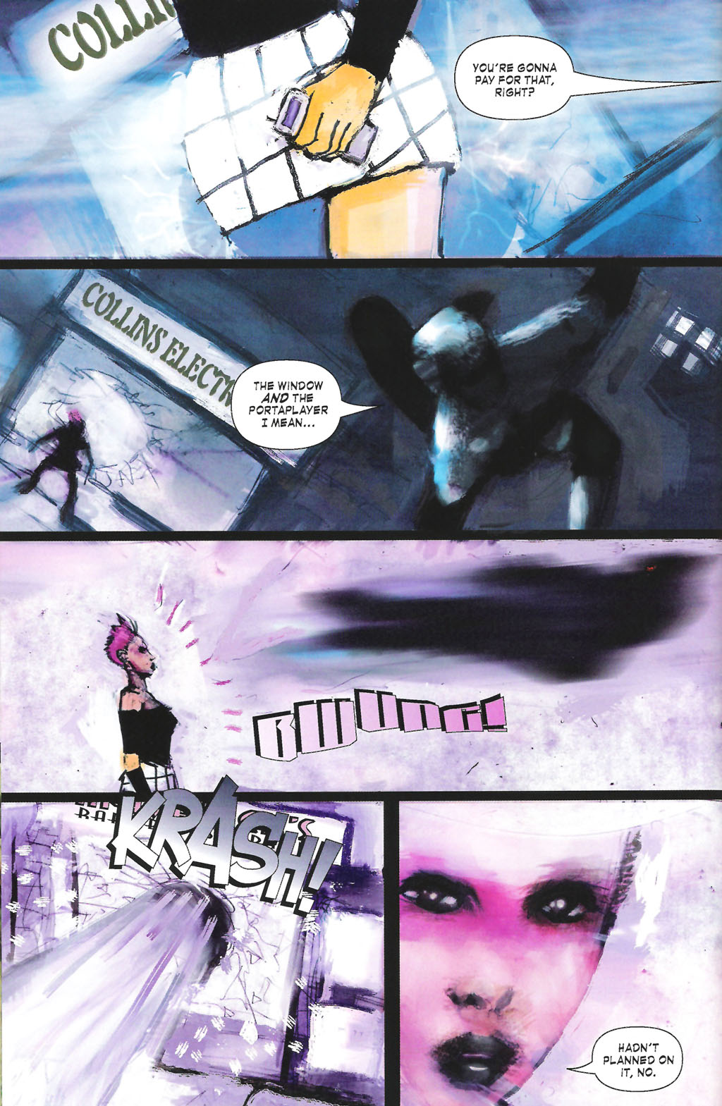Read online ShadowHawk (2005) comic -  Issue #7 - 10