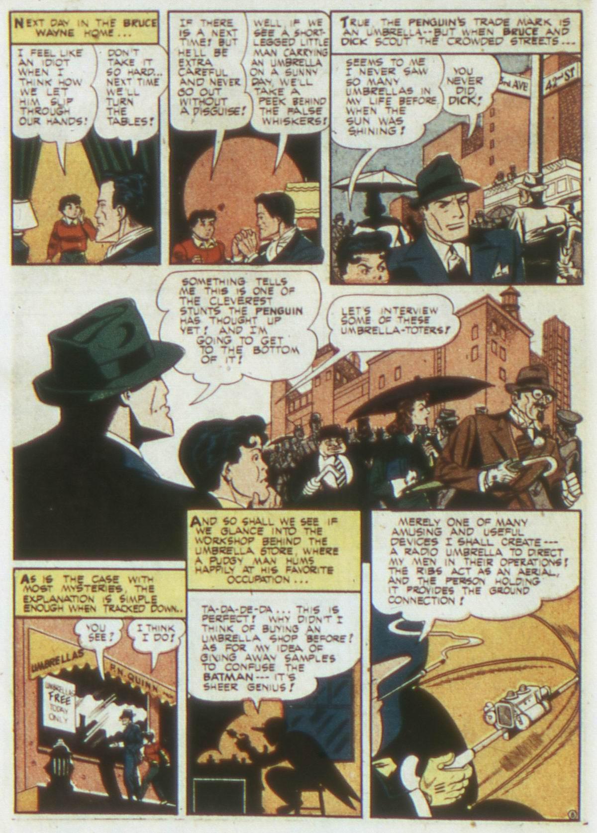 Read online Detective Comics (1937) comic -  Issue #87 - 10