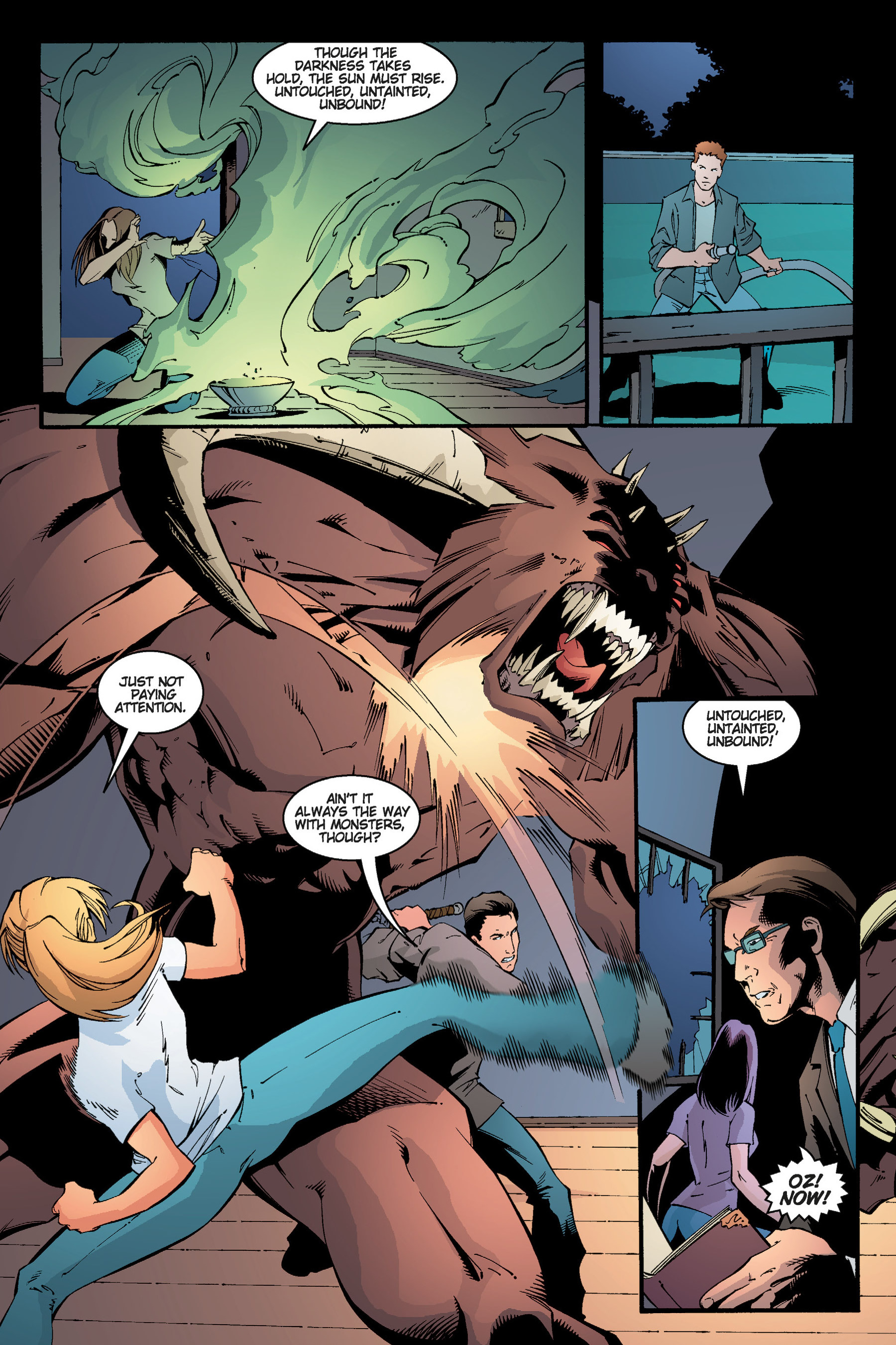 Read online Buffy the Vampire Slayer: Omnibus comic -  Issue # TPB 3 - 225