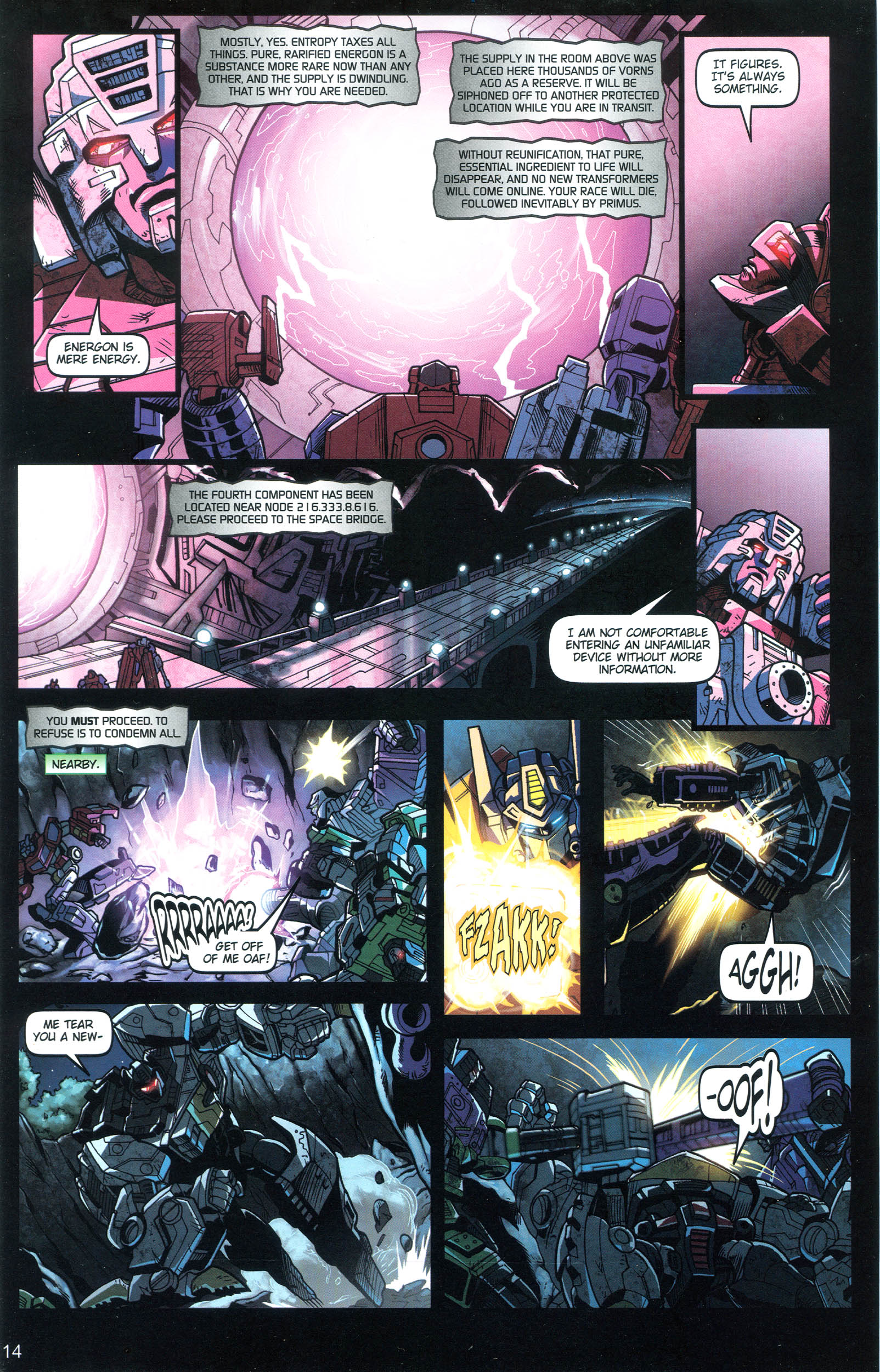 Read online Transformers: Collectors' Club comic -  Issue #18 - 14