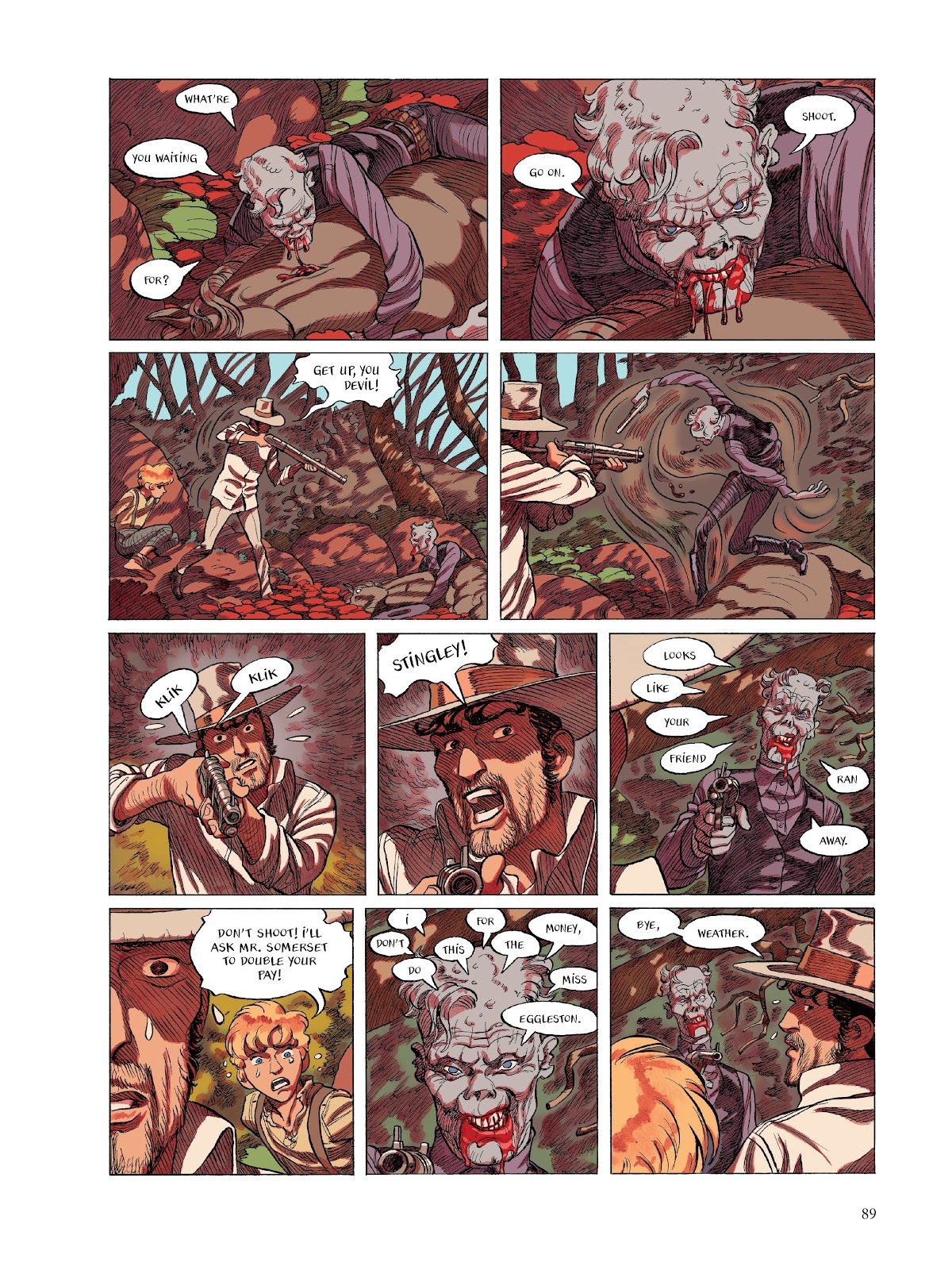 Read online The Smell of Starving Boys comic -  Issue # TPB - 90