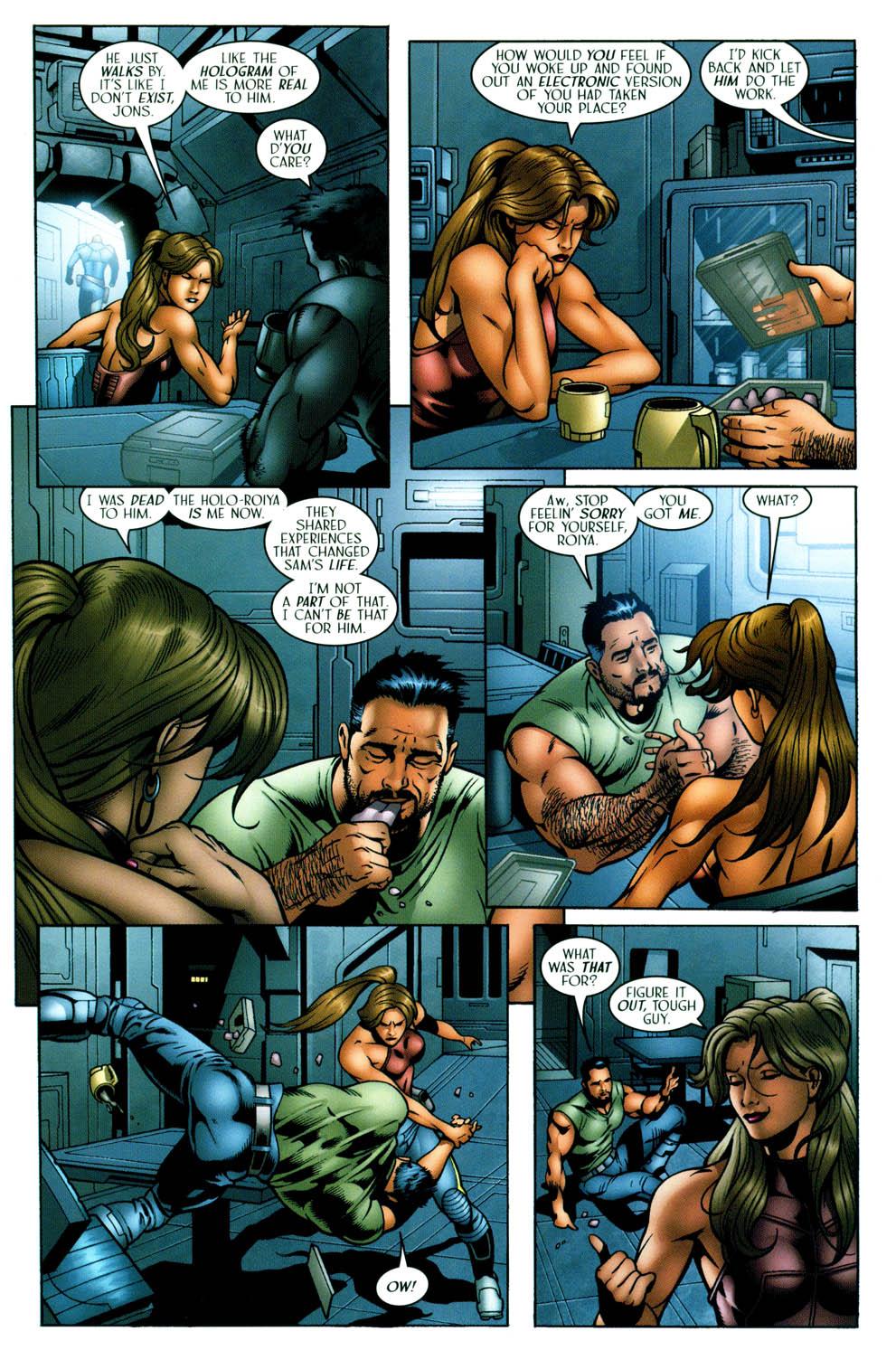 Read online Sigil (2000) comic -  Issue #36 - 12