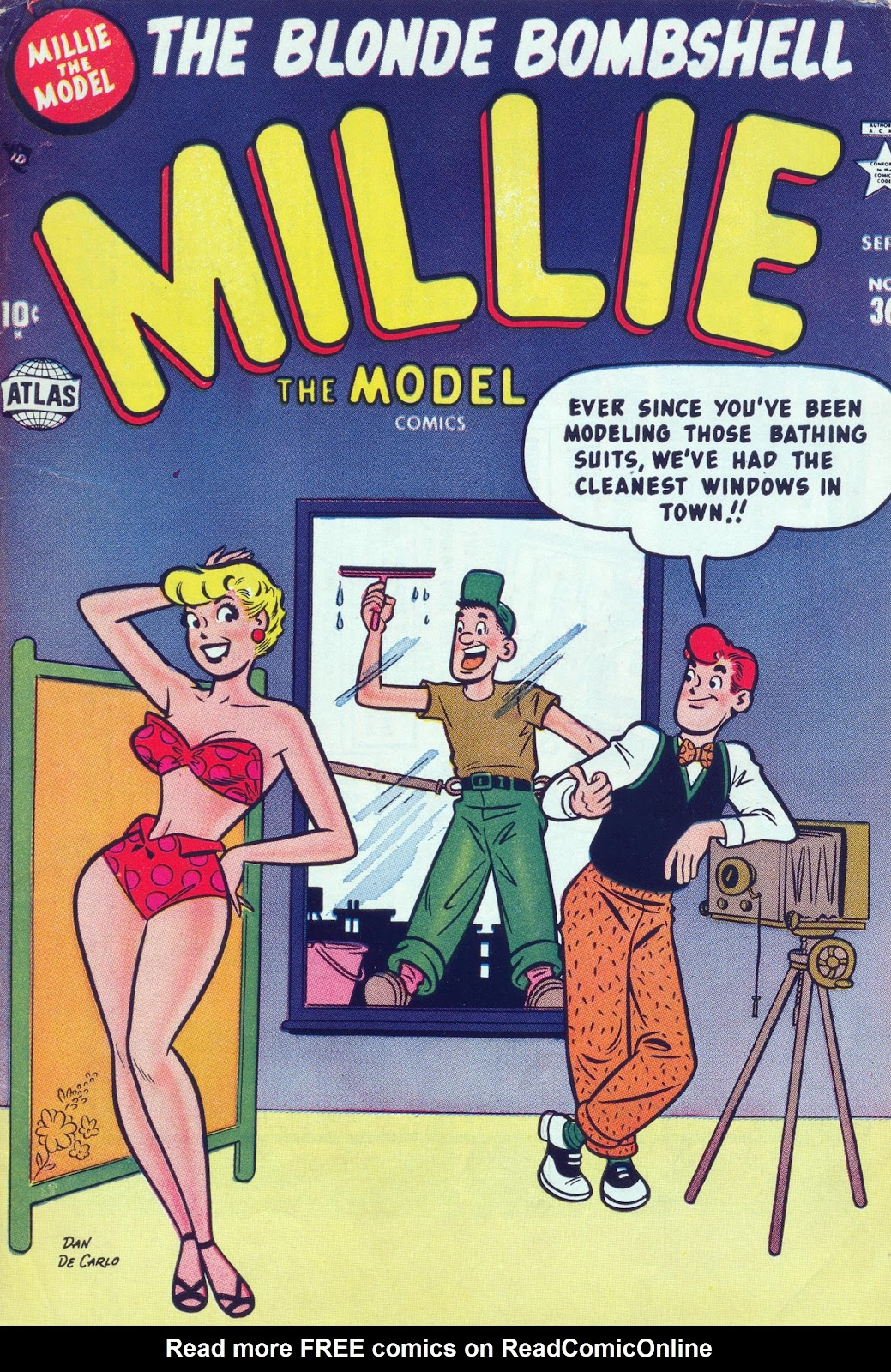 Millie the Model issue 36 - Page 1