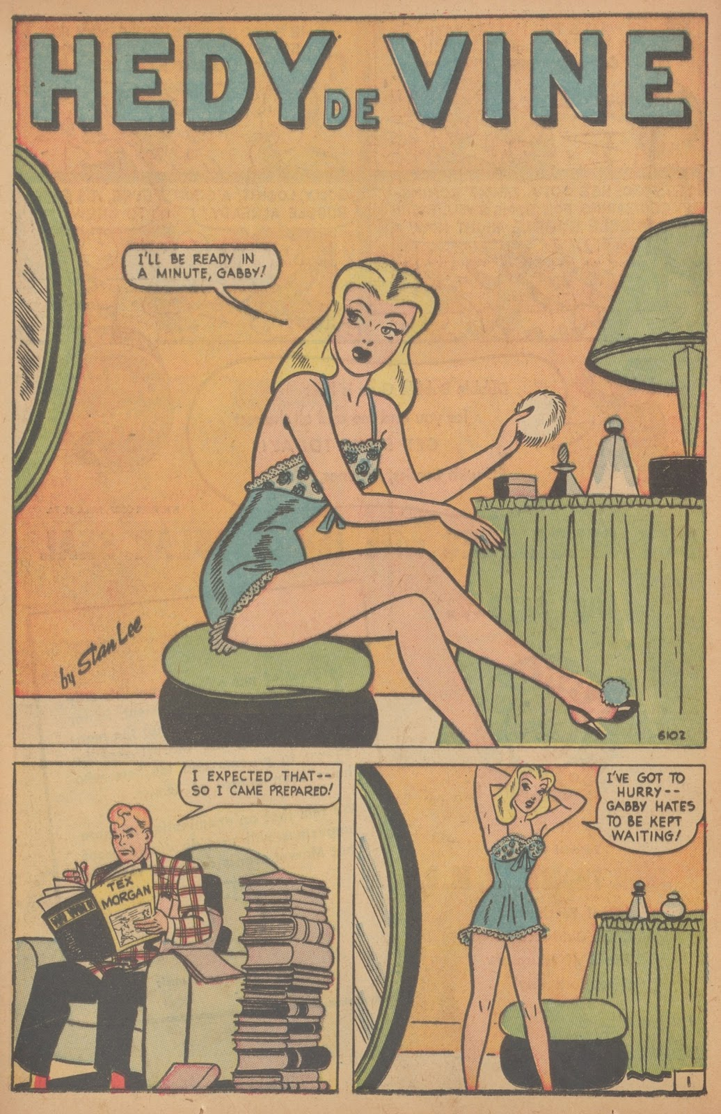 Read online Nellie The Nurse (1945) comic -  Issue #21 - 20