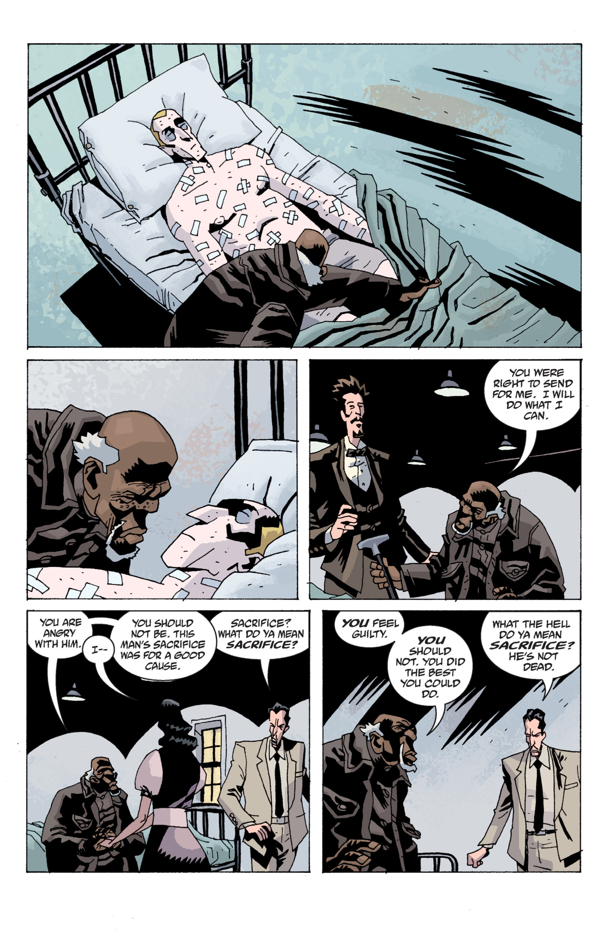 Read online B.P.R.D. (2003) comic -  Issue # TPB 13 - 117